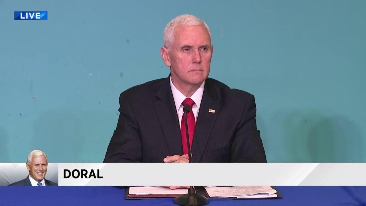 Vice President Mike Pence makes South Florida stop to discuss crisis in Venezuela 20190201171645.jpg_18407029_ver1.0_1280_720.jpg