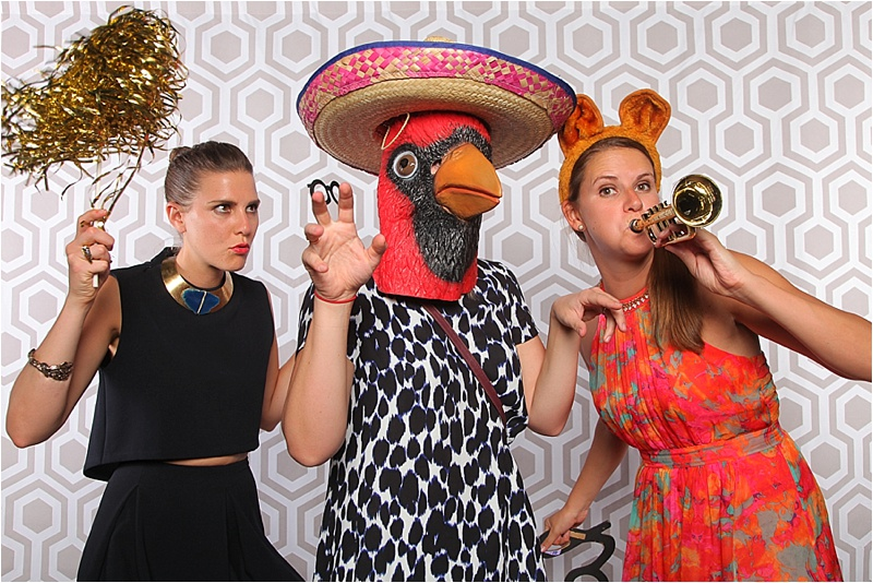 Desert Mountain Wedding Photobooth