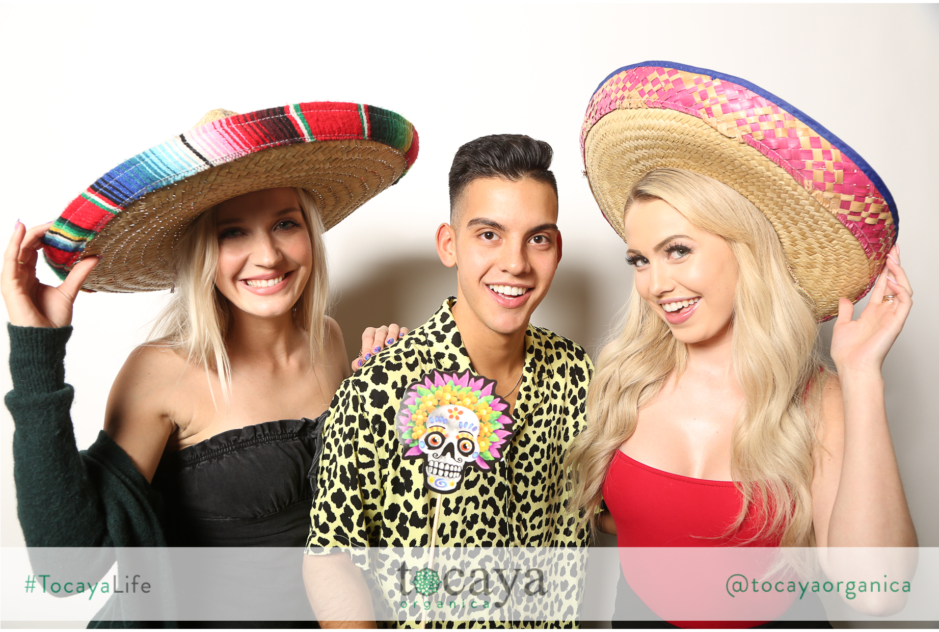 Photo booth at restaurant grand opening scottsdale