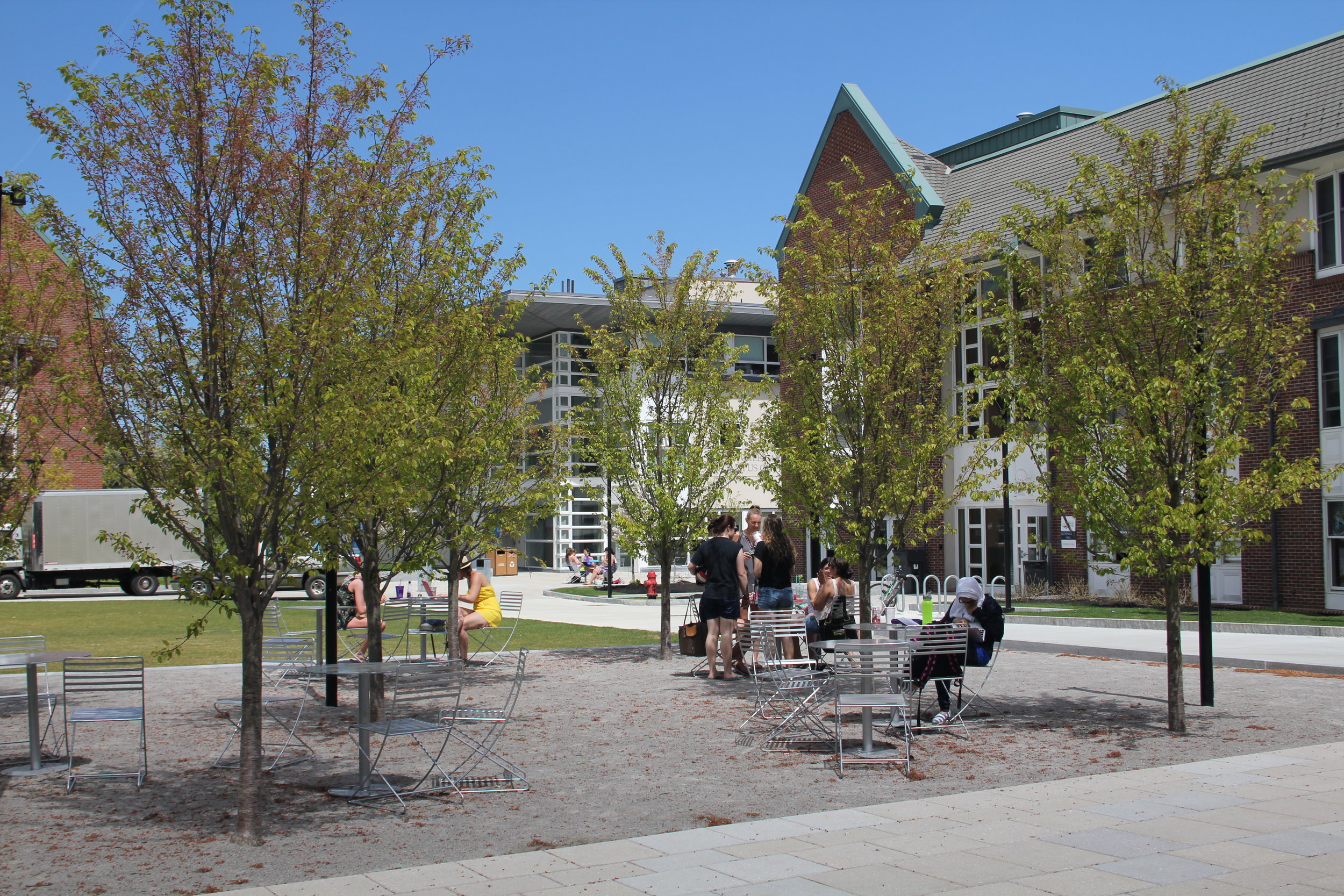 LASELL COLLEGE ARTS QUAD