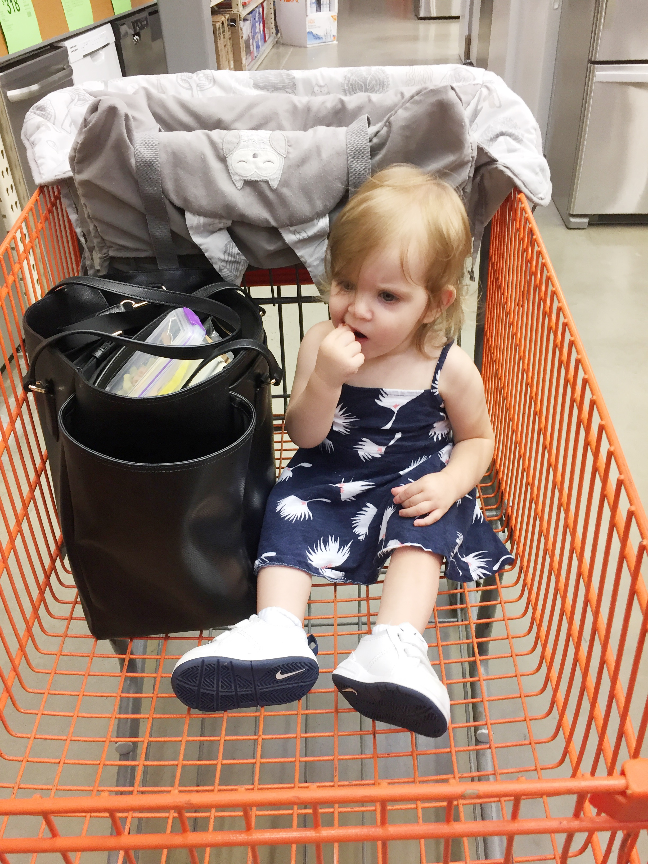 Unfortunately, Home Depot does not offer cute baby discounts on appliances.