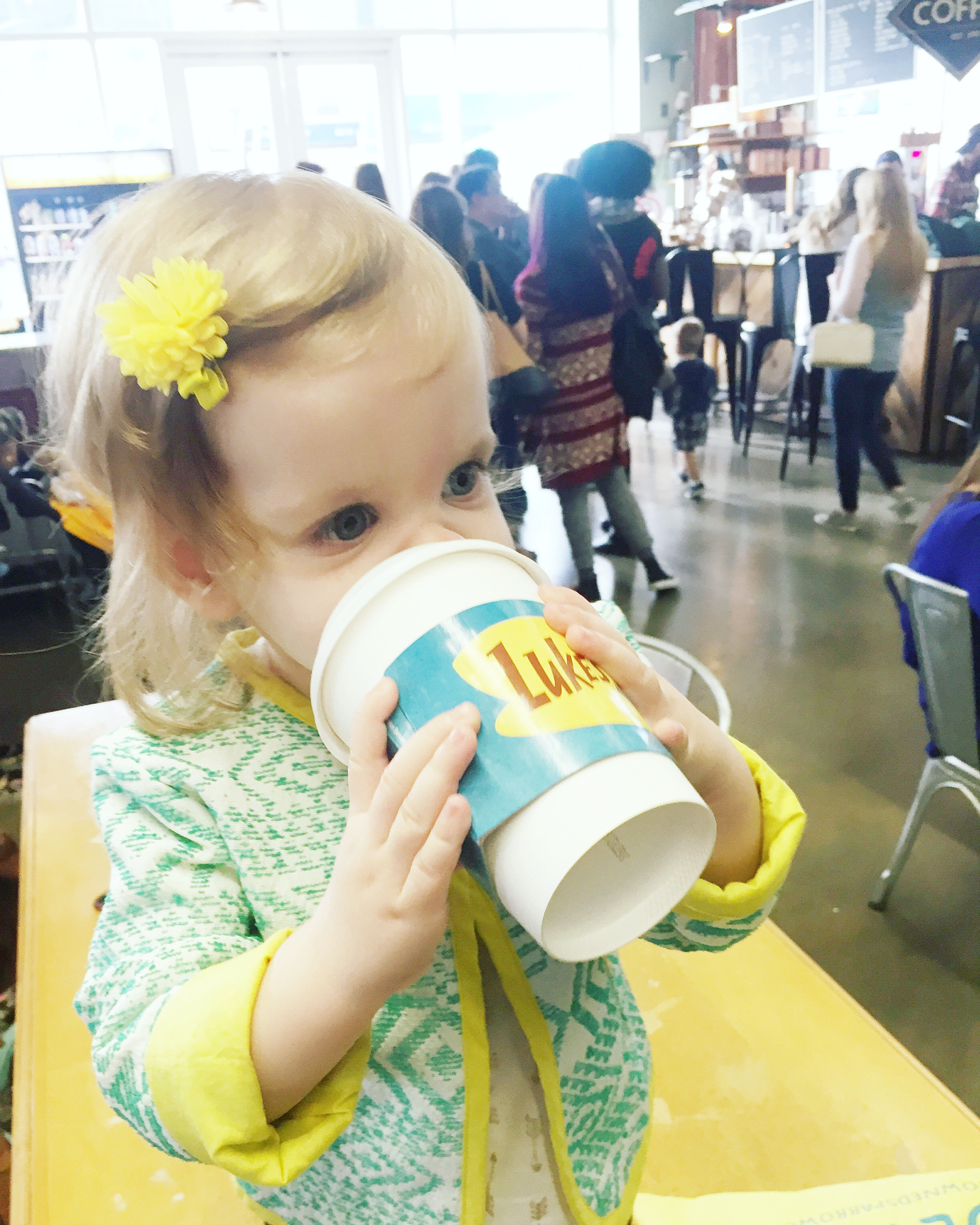 baby-drinking-coffee-not-just-coffee-charlotte-nc-gilmore-girls-lukes-diner