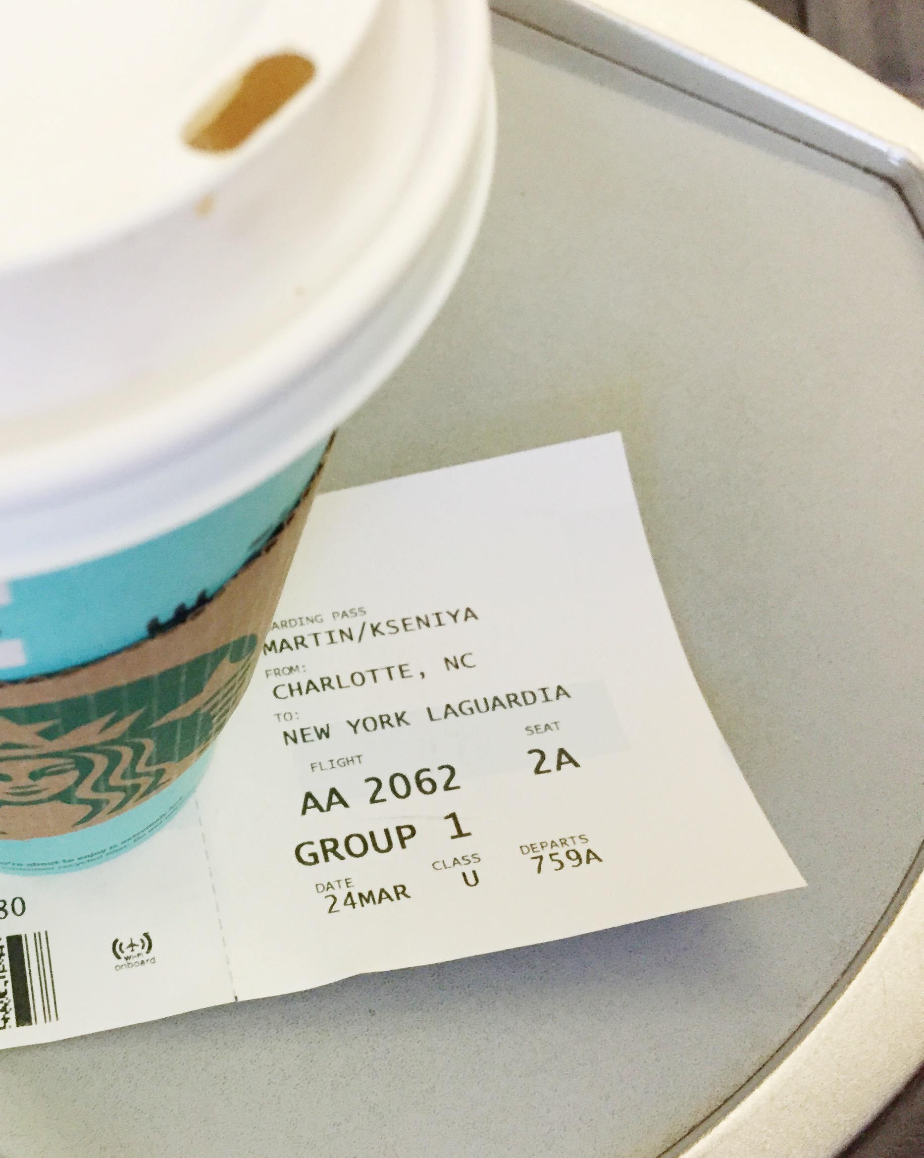early-morning-flight-clt-lga-seat-2a-nyc
