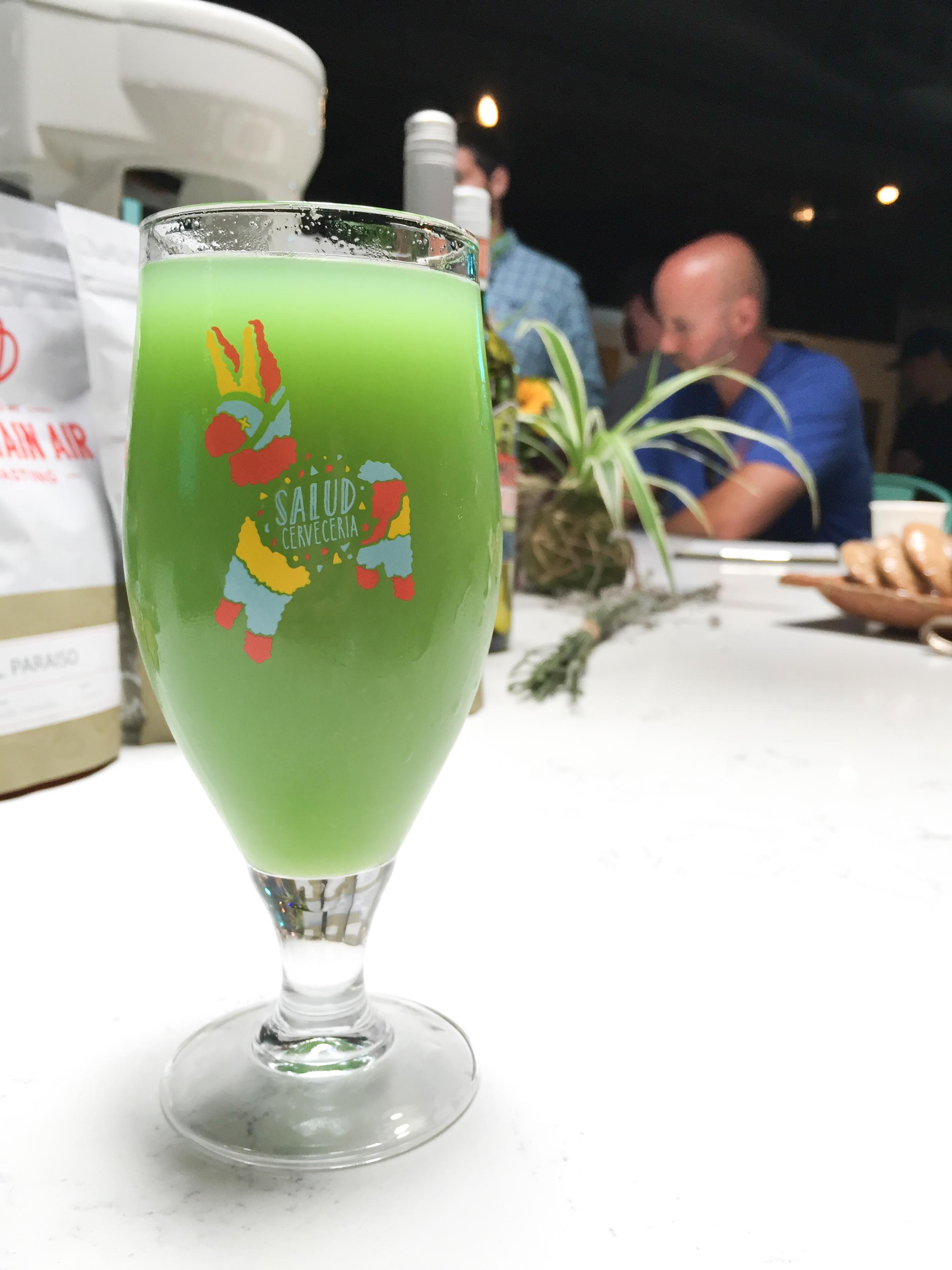 salud-cerveceria-noda-charlotte-nc-green-drank-drink-peruvian-soda