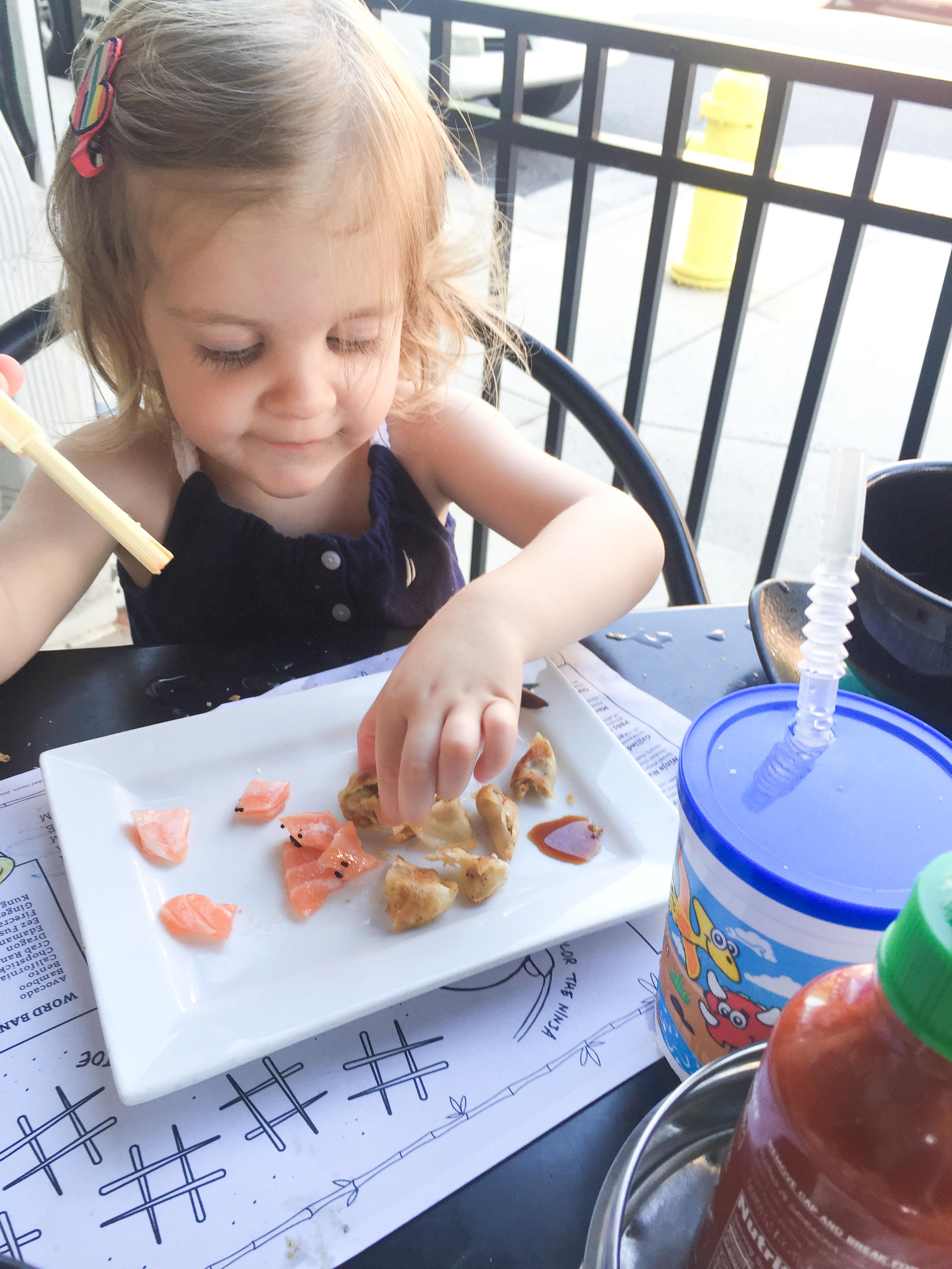 eez-fusion-sushi-huntersville-nc-toddler-sashimi-chopsticks