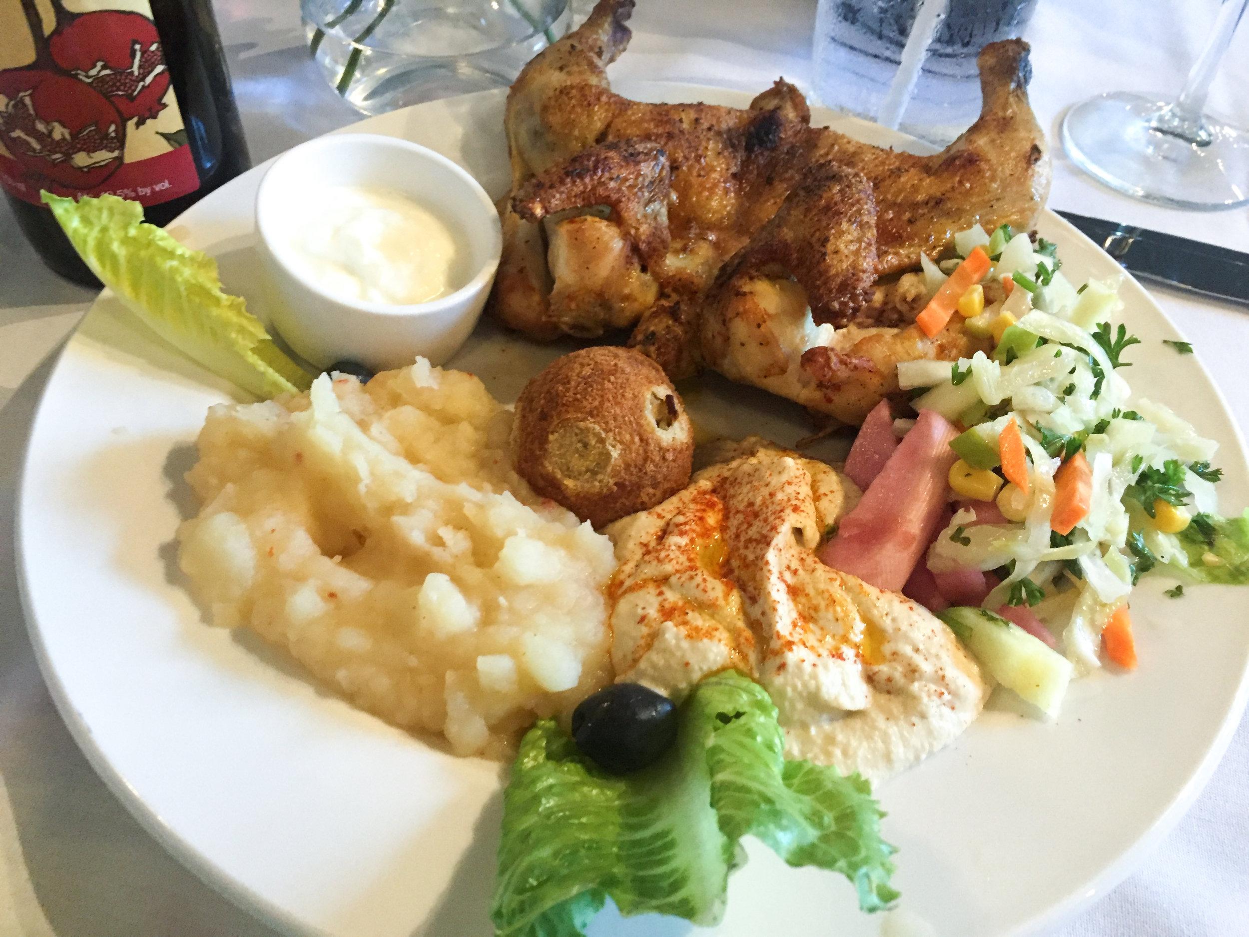 Cornish Chicken Tabaka