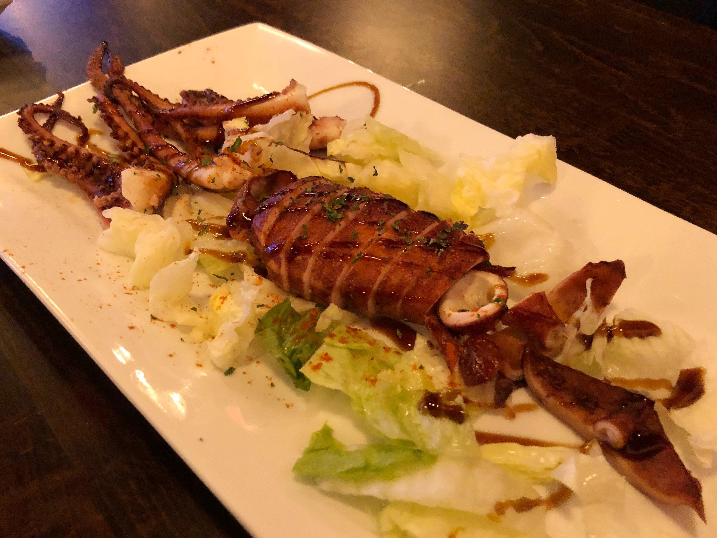 BBQ Squid