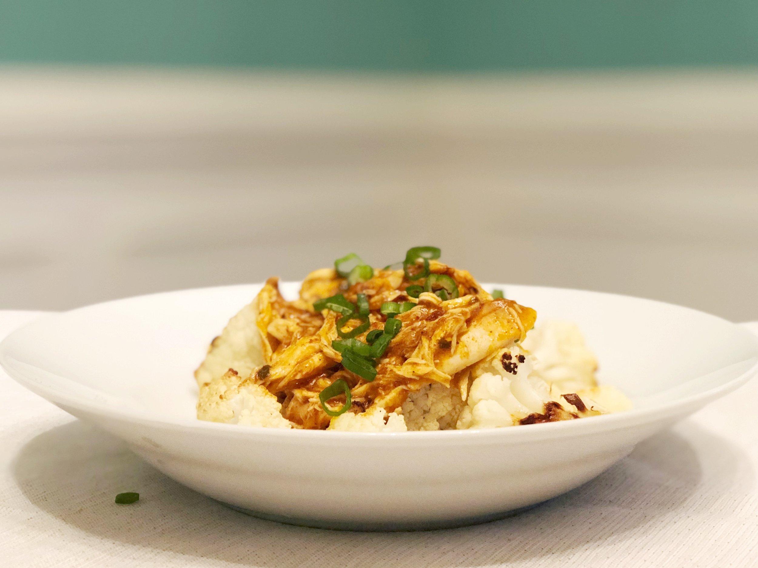 butter-chicken-over-roasted-cauliflower