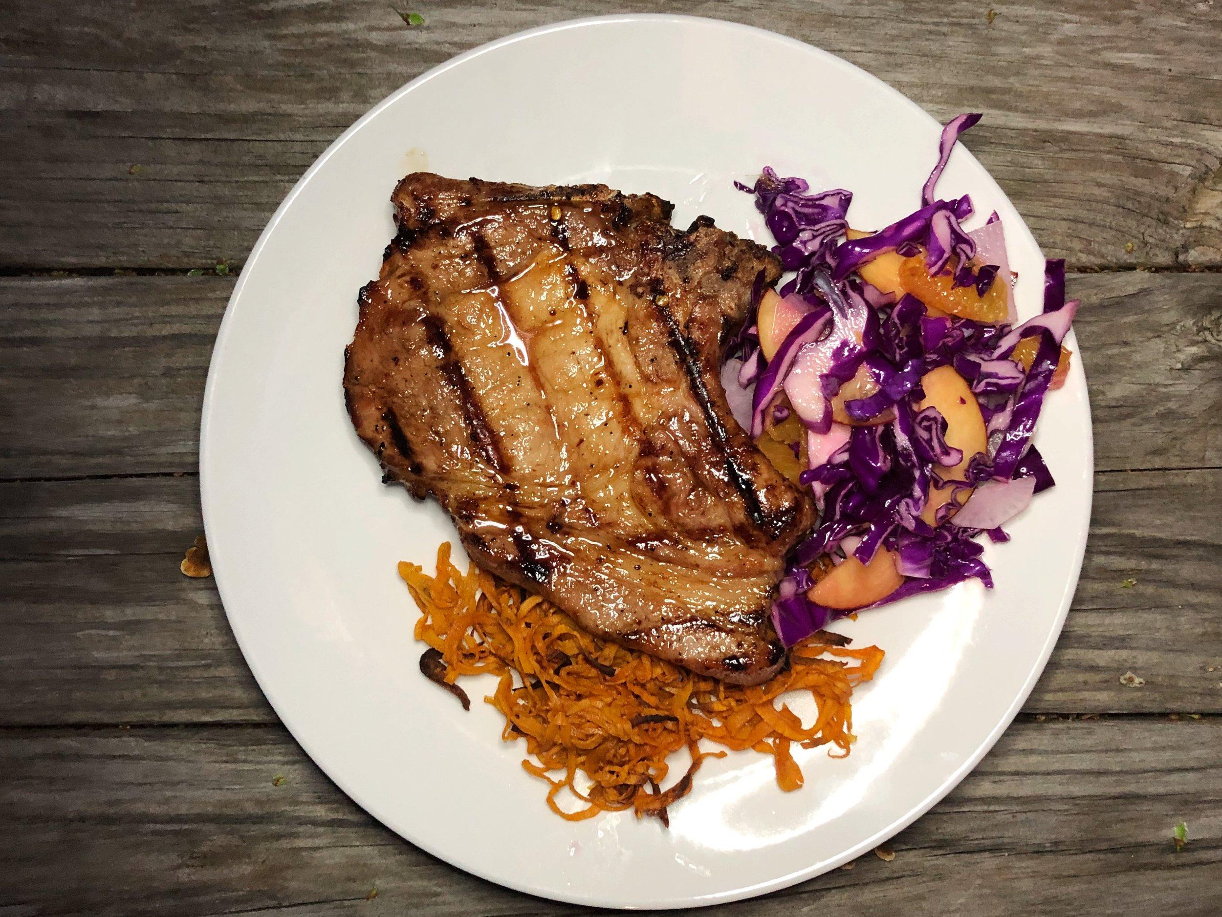 marinated-grilled-pork-chop