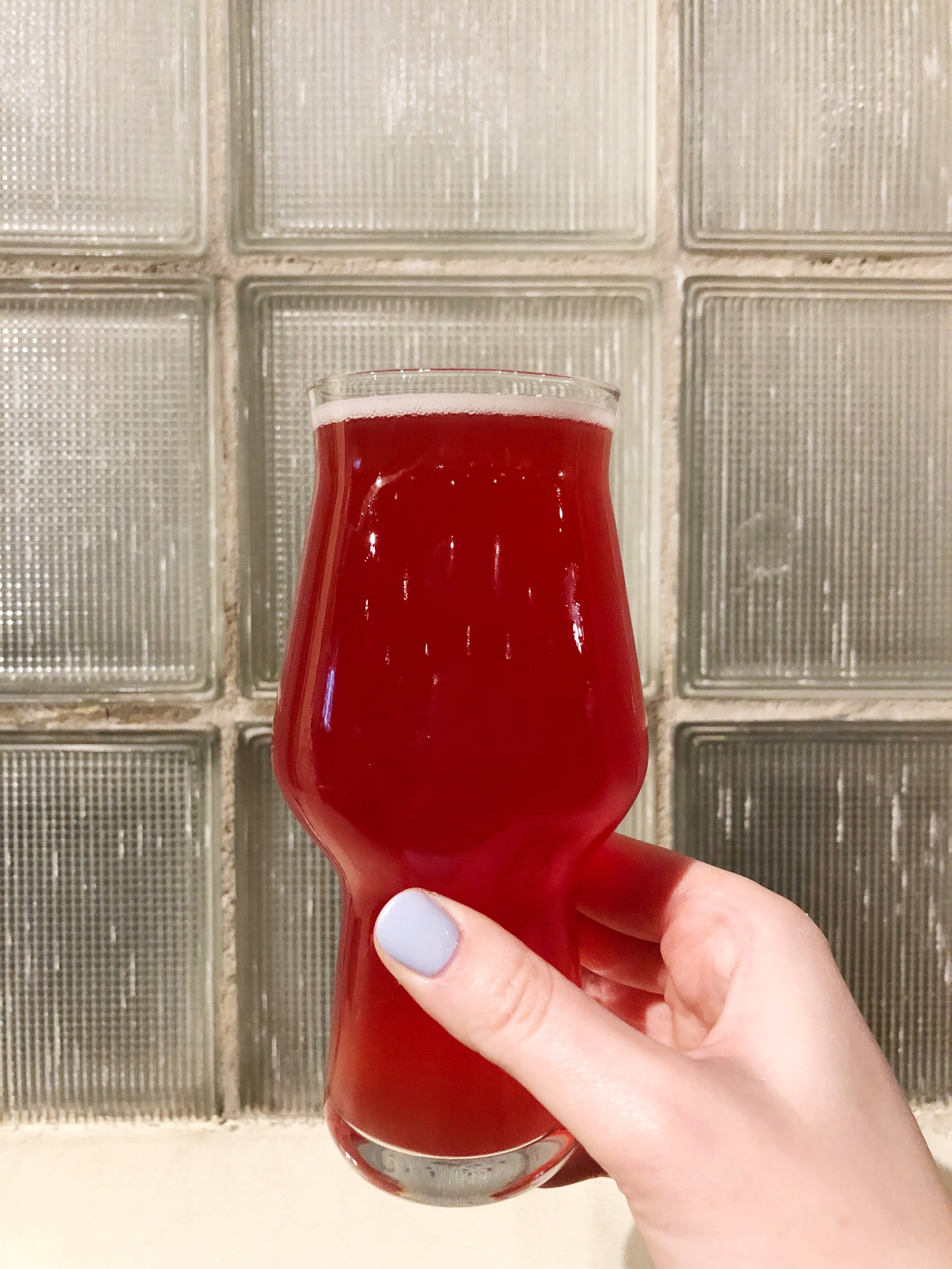 Beauty and the Beets (Beet and Orange Saison).