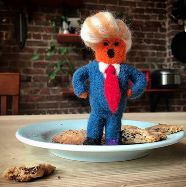 """Fuck Little Trump why did you eat all the cookies!"""
