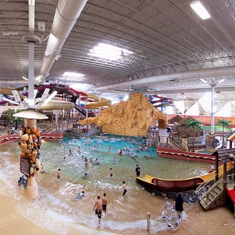 1 Free Ticket To Kalahari in The Wisconsin Dells