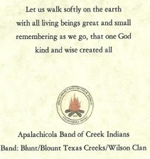 A prayer card shared by King's family.