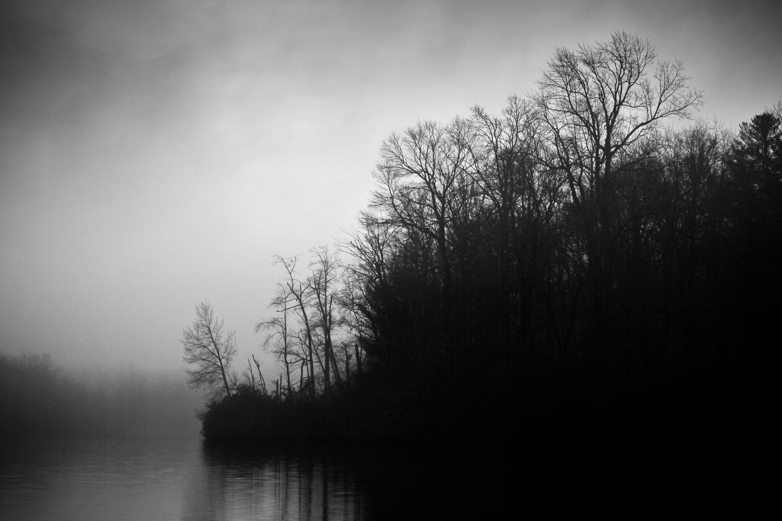 Price Lake in Mist