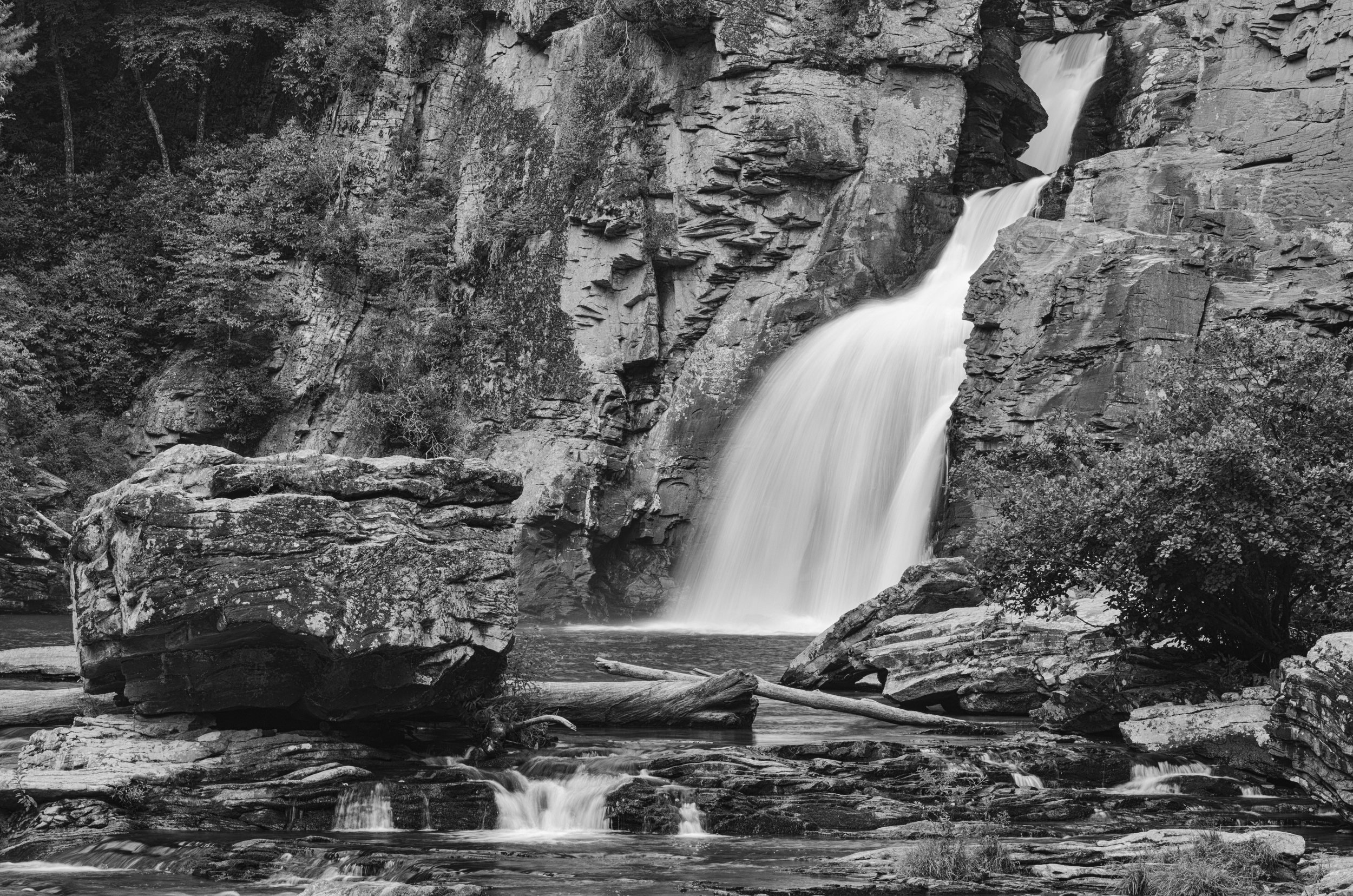 Linville Falls, Blue Ridge Mountains