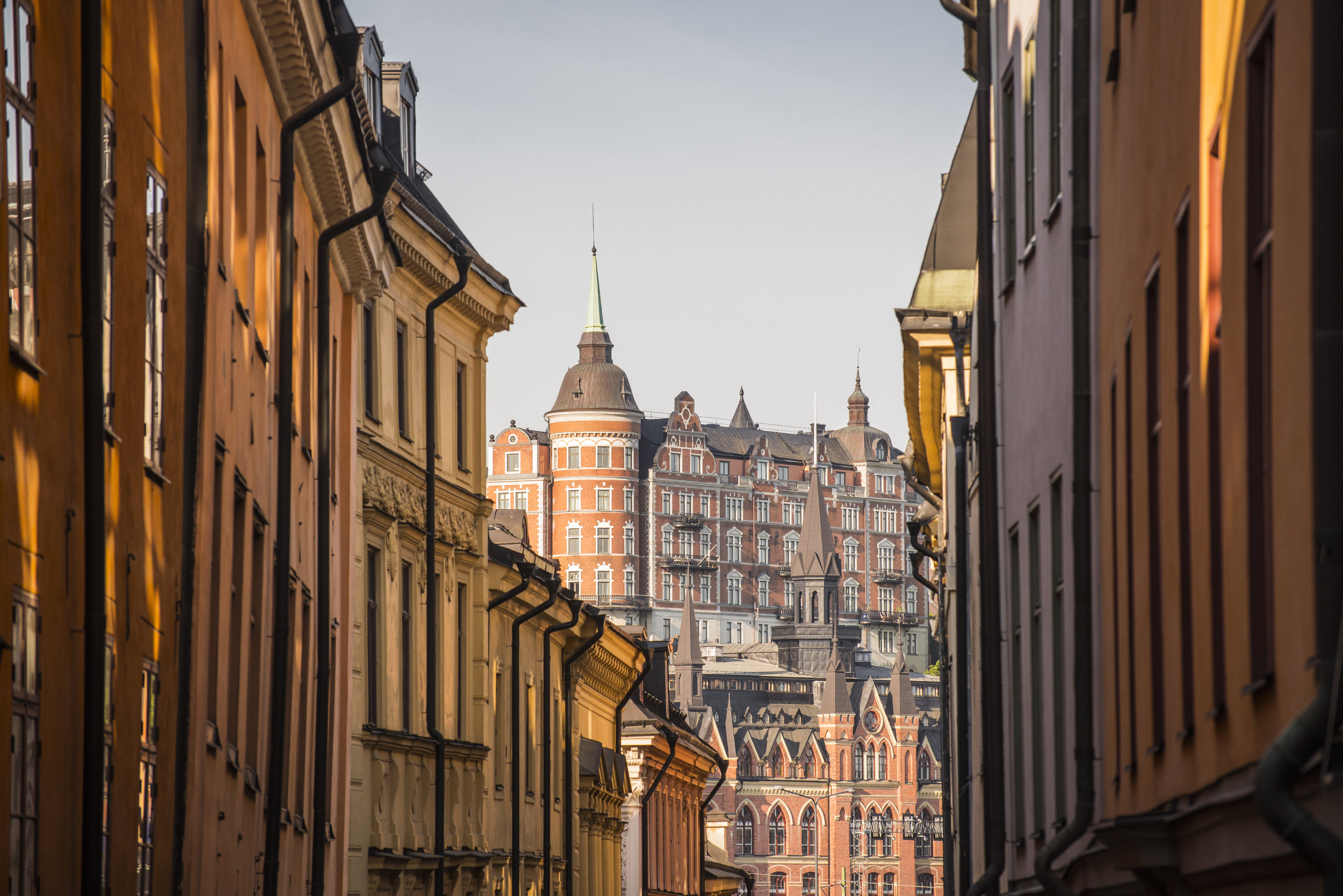 Mariaberghet from Gamla Stan