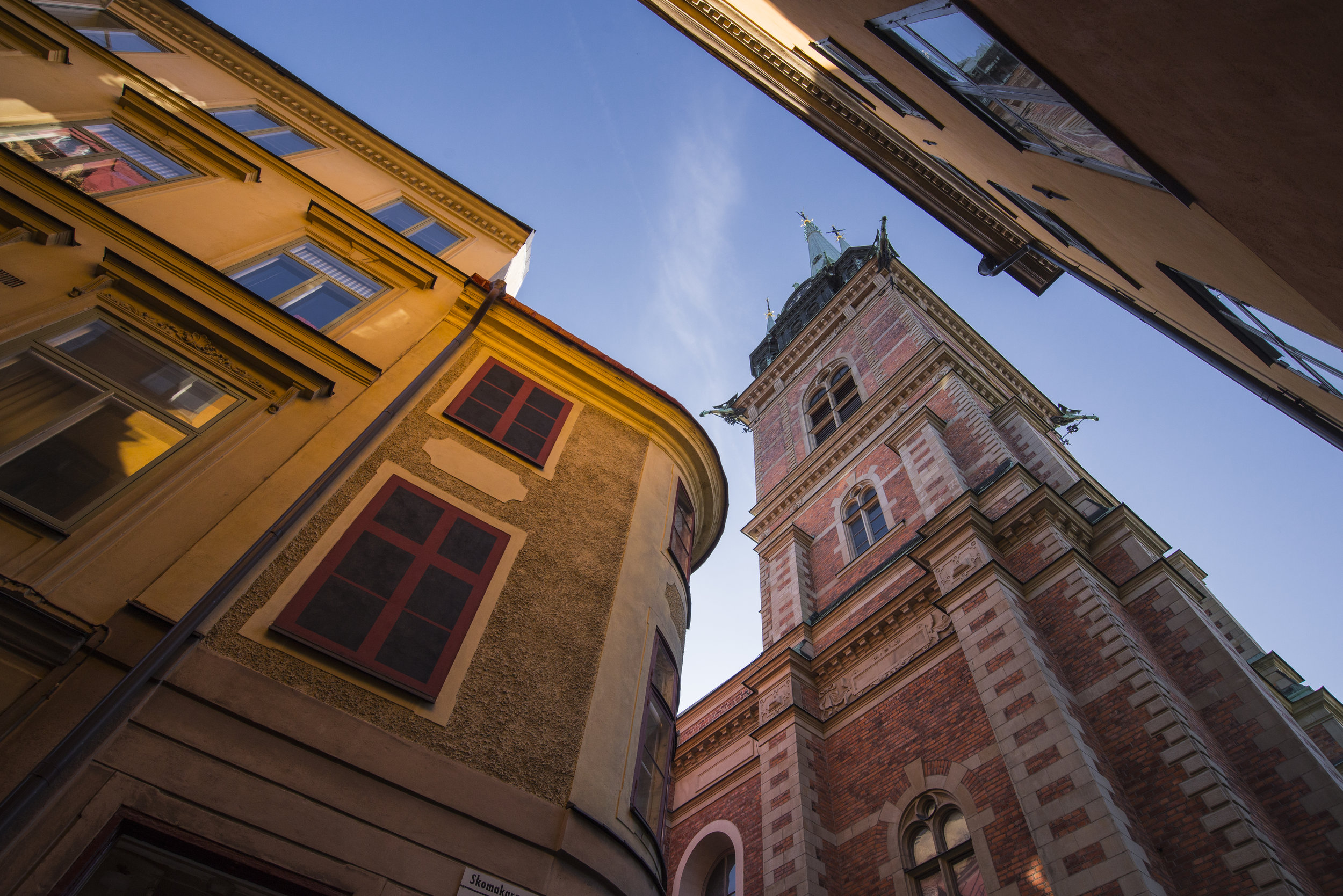 Historic Buildings, Gamla Stan