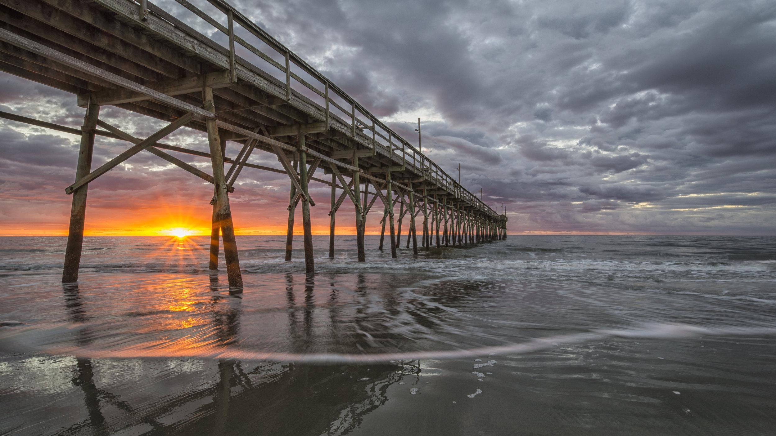 Sunrise at Sunset Beach, North Carolina