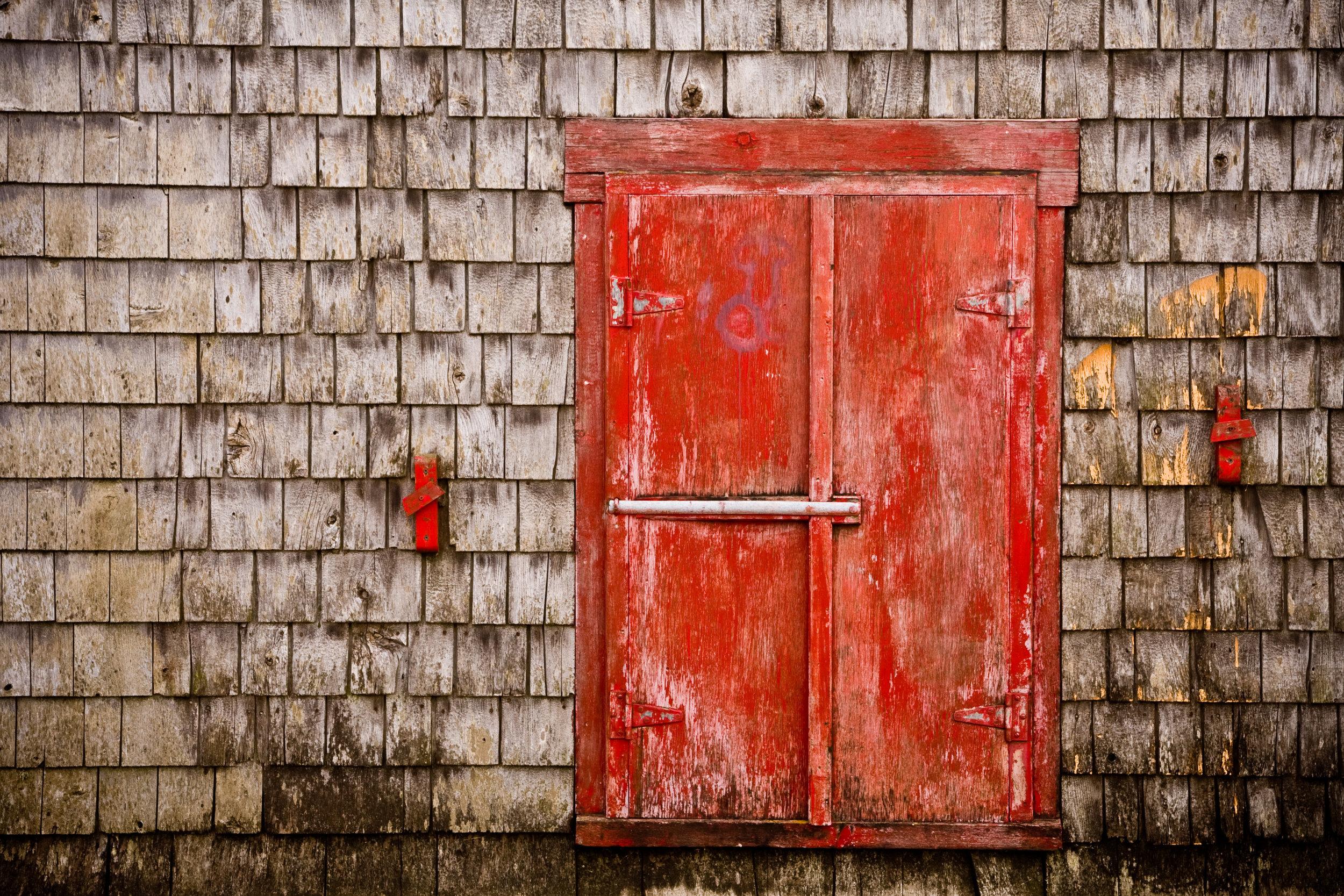 Shed Door, Seal Cove