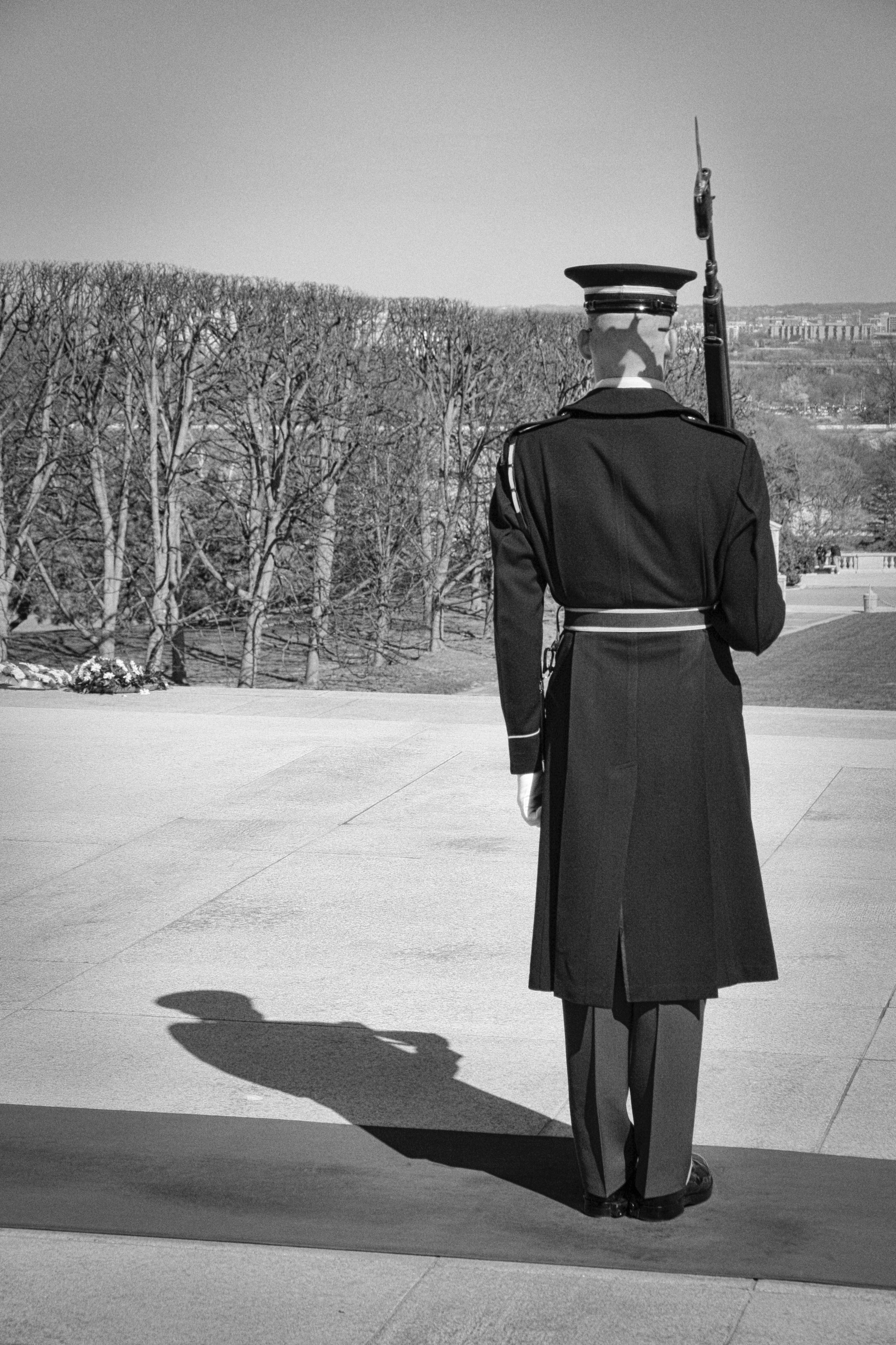 Guard at Arlington Cemetery, Virginia