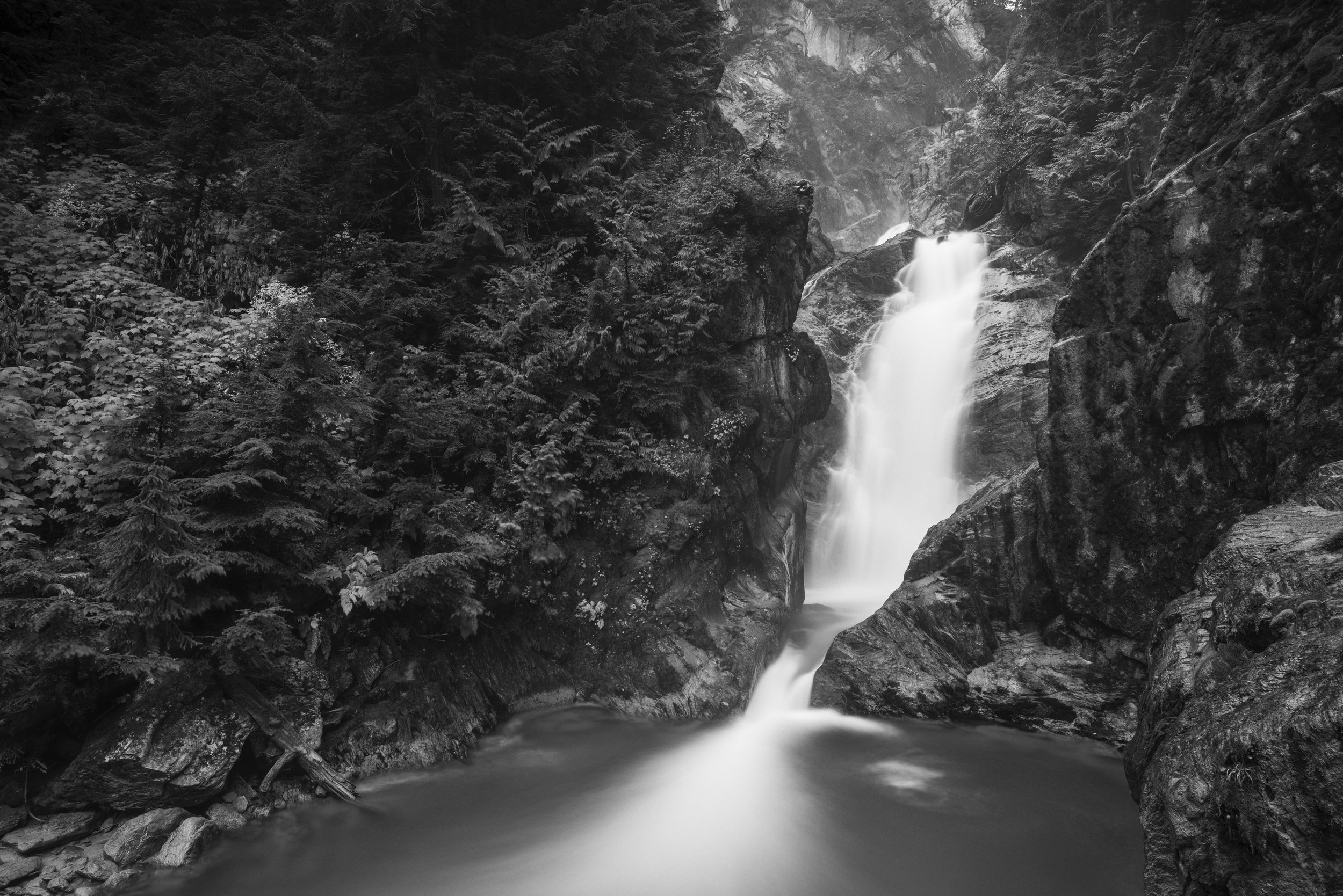 Bear Creek Falls, Glacier National Park of Canada