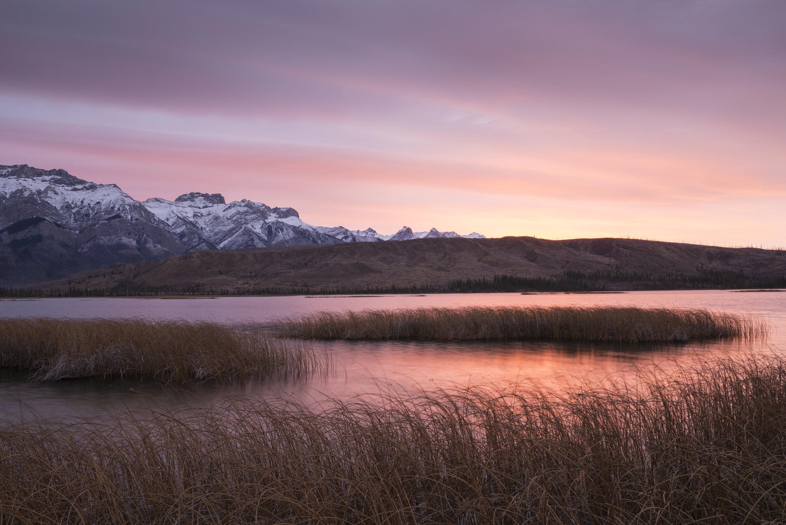Sunrise, Talbot Lake