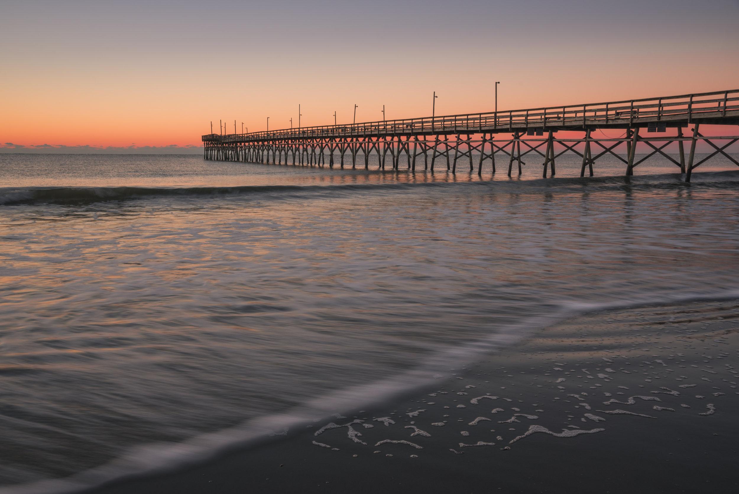 Sunrise, Sunset Beach, North Carolina