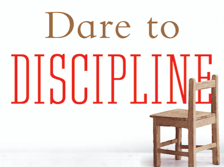 Dare to Discipline   Followers of Jesus, who are parents, are pulled in many directions for raising children. This 4-lesson, classic book and DVD series helps parents to learn and use biblical principles for raising children.