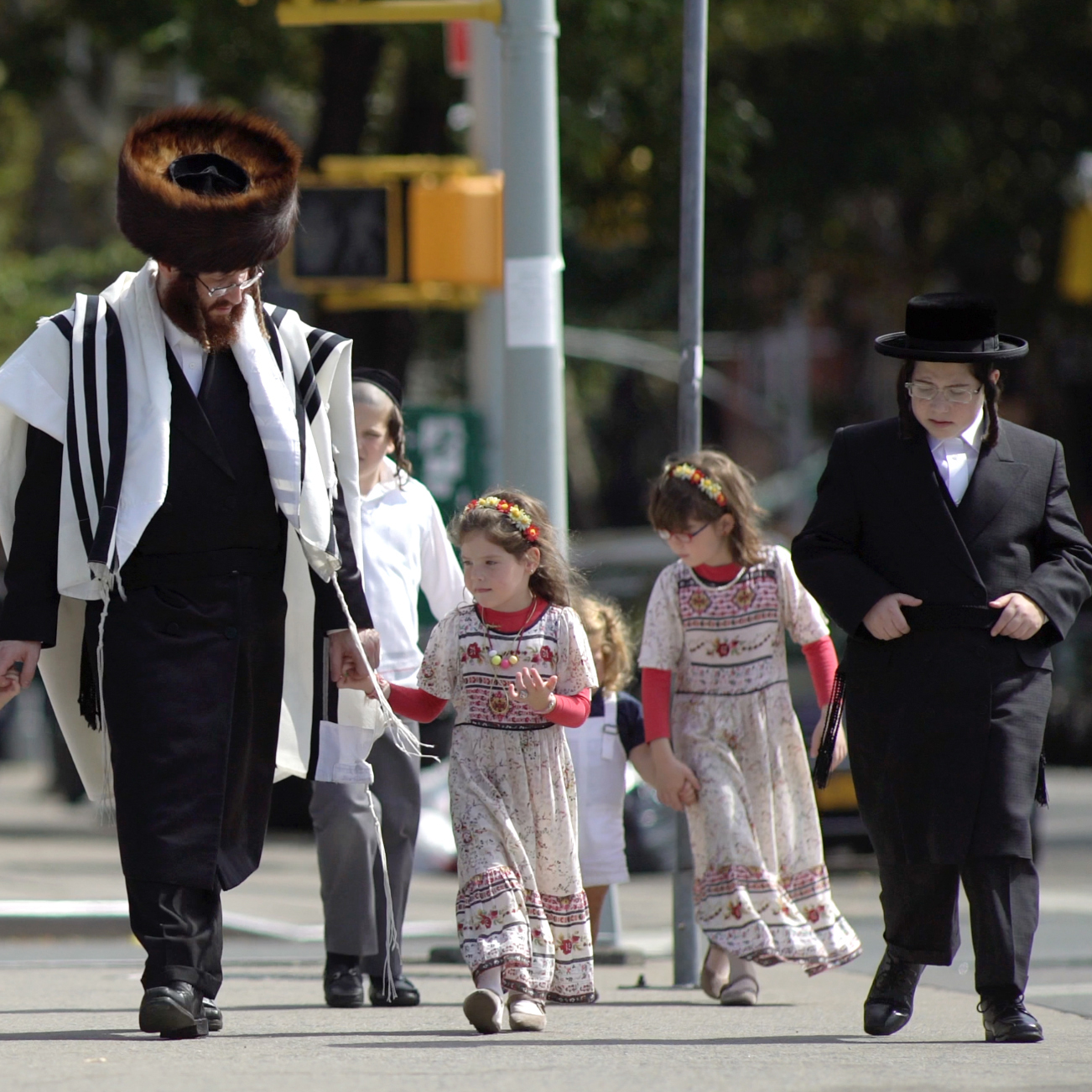 Еврейский район - Хасиды, Кошерный Бруклин