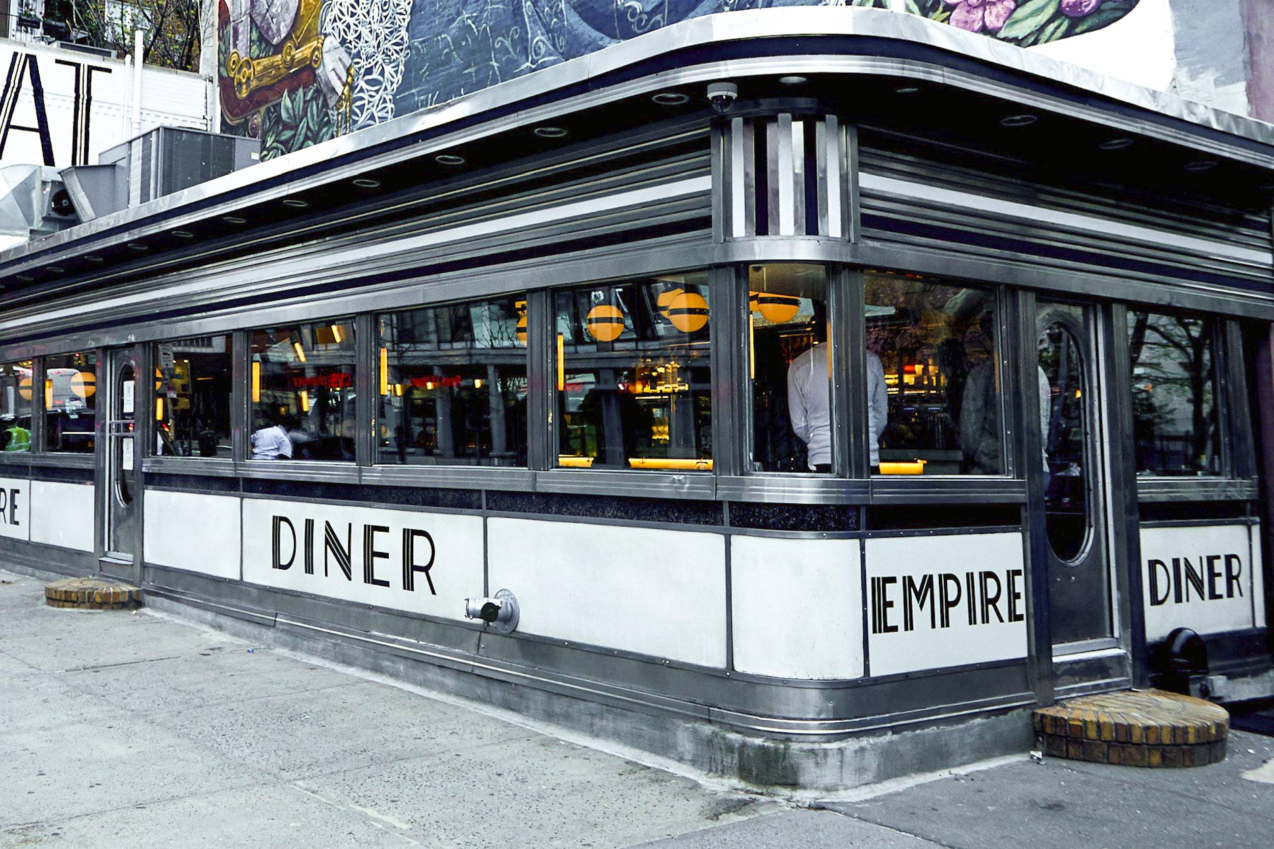 Empire Diner - 210 10th Ave, New York, NY 10011