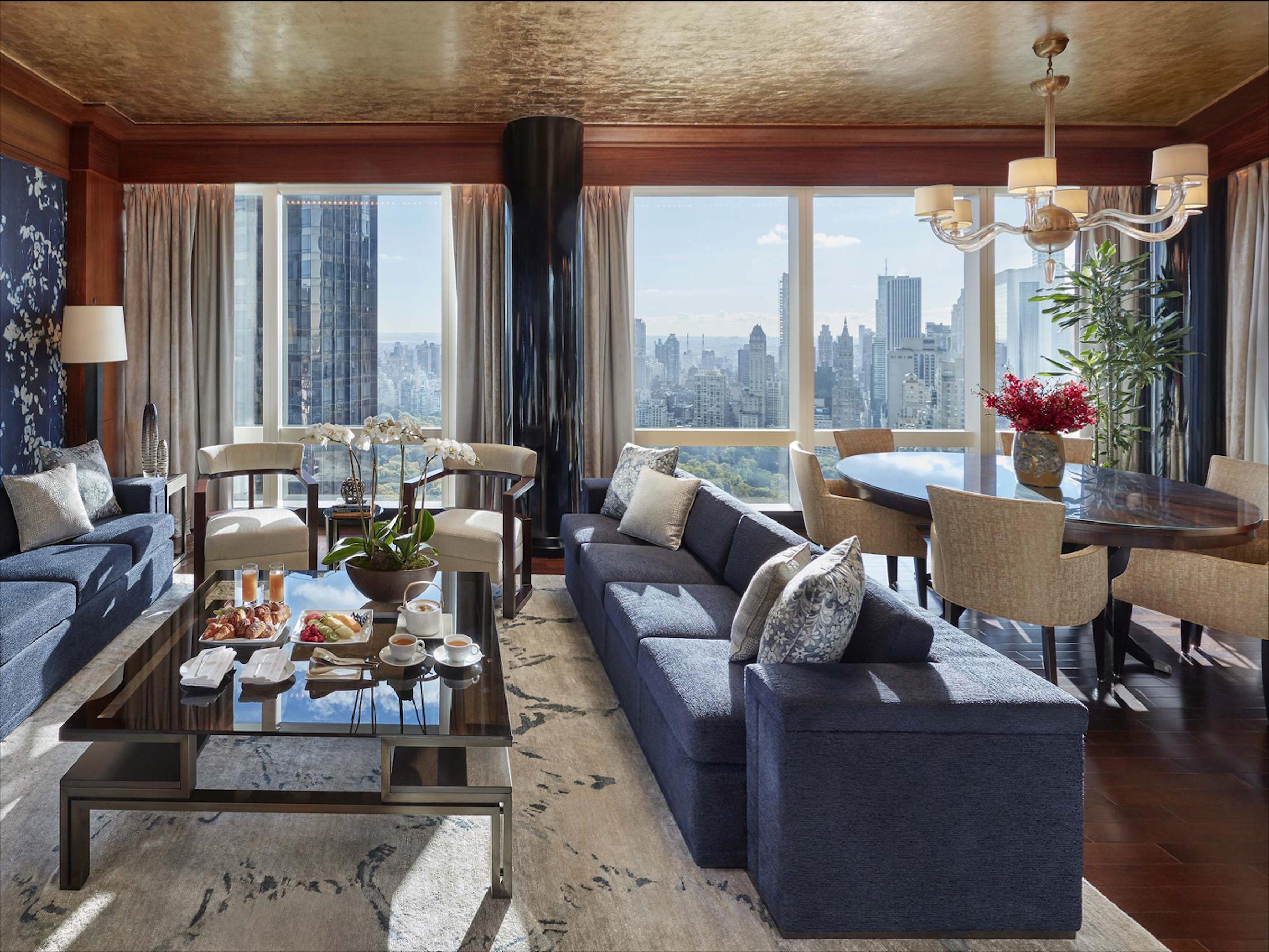 Mandarin Oriental New York✩✩✩✩✩ - Номера с видом: Premier central park view room или Oriental suiteОт $515 за ночь(В зависимости от сезона)Район: Columbus Circle