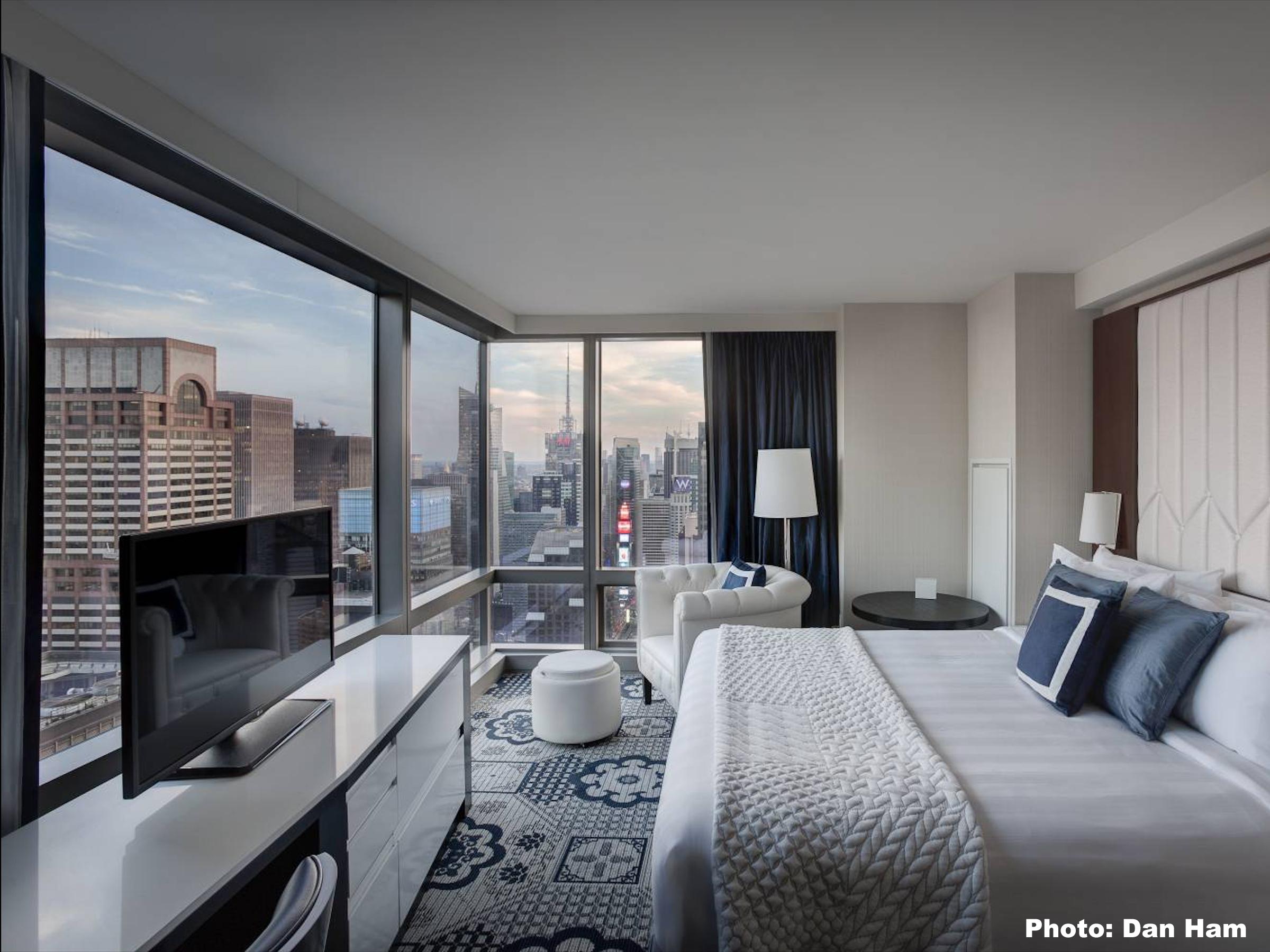 Courtyard Marriott Central Park✩✩✩✩ - Номера с видом: City ViewОт $180 за ночь(В зависимости от сезона)Район: Мидтаун