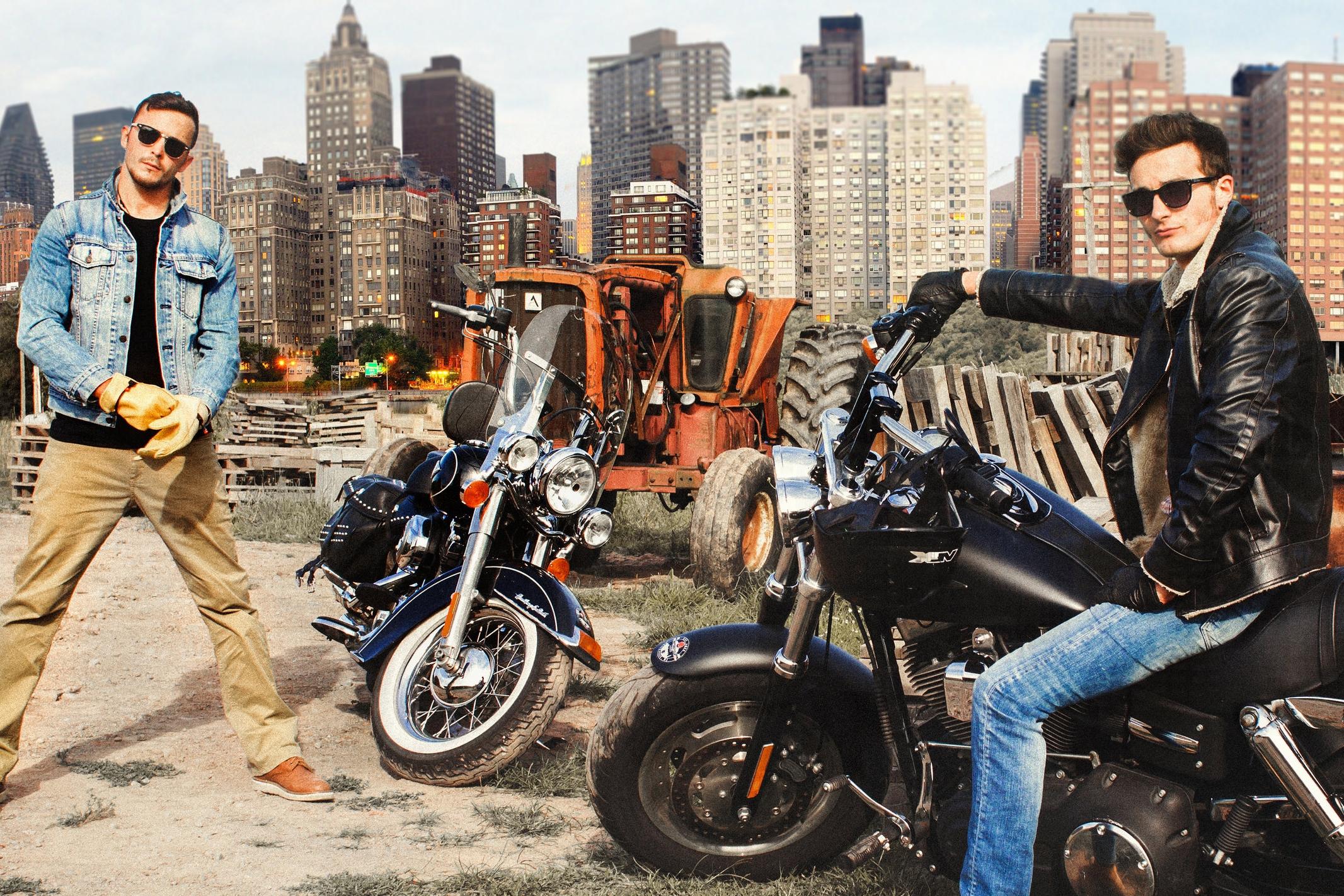 На Harley Davidson -