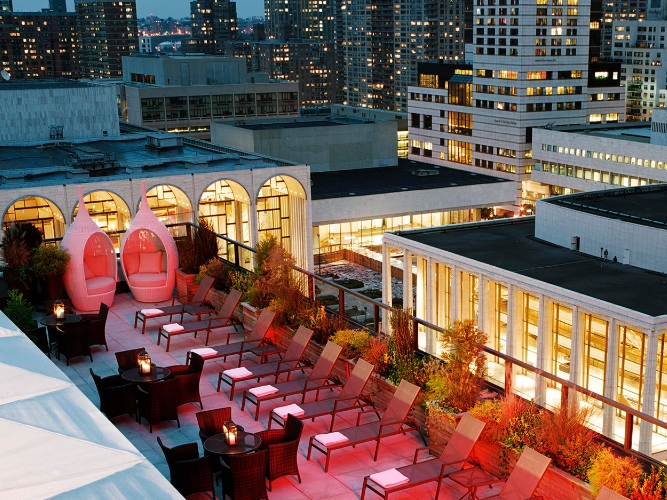 The Empire Rooftop & Lounge - 44 W 63rd St, New York, NY 10023