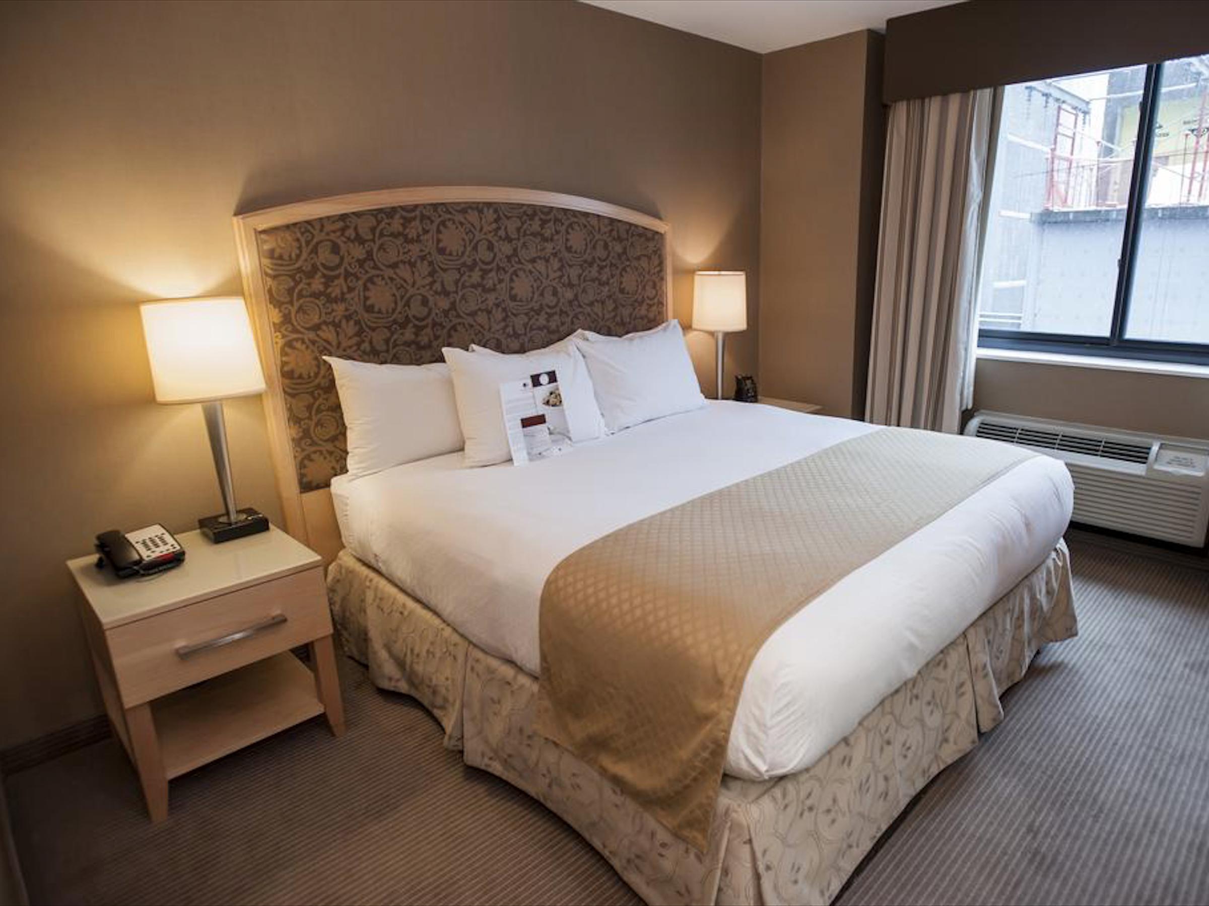 DoubleTree by Hilton ✩✩✩ - Стандартный номер:От $135 за ночь(В зависимости от сезона)Район: Челси