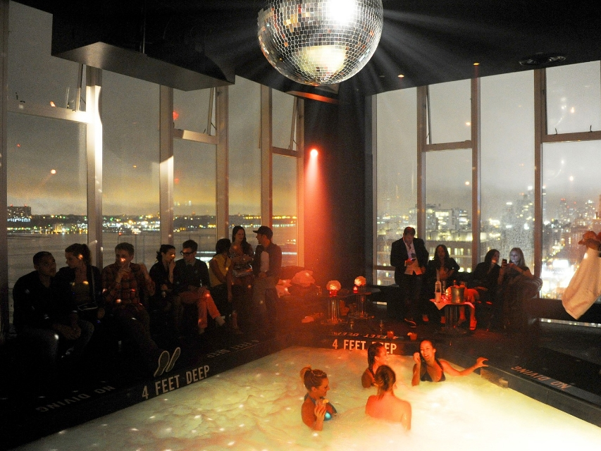 Le Bain - The Standard, High Line, 848 Washington St, New York, NY 10014