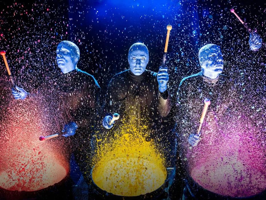 Blue Man Group - 434 Lafayette St #1, New York, NY 10003