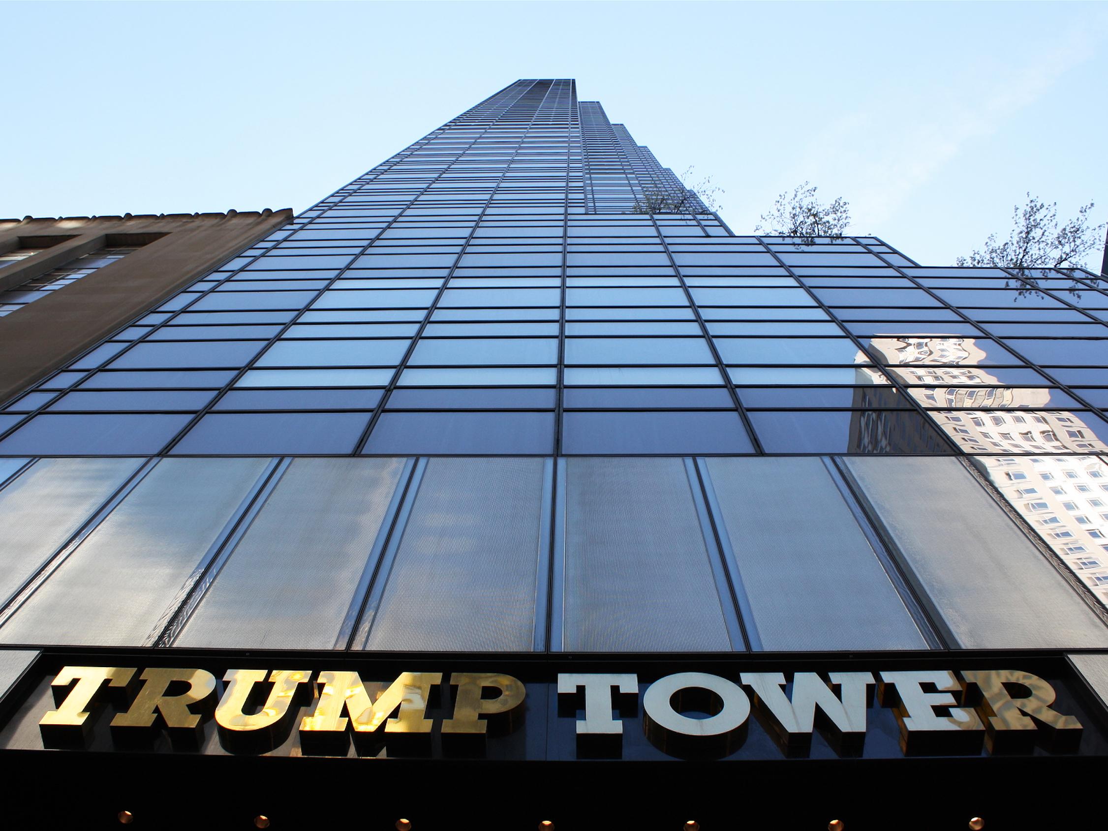 Башня Трампа -