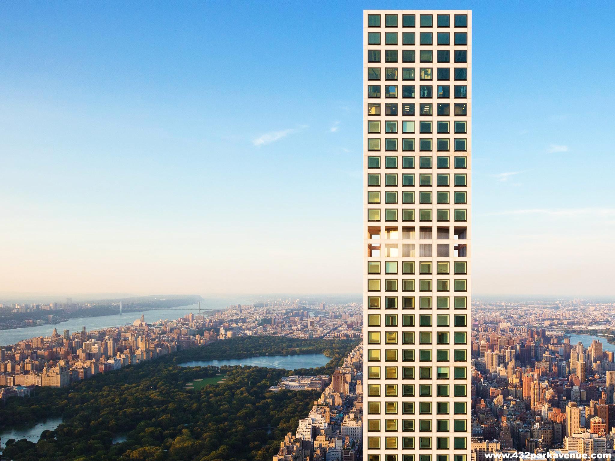 10 Самых высоких небоскребов в Нью-Йорке -