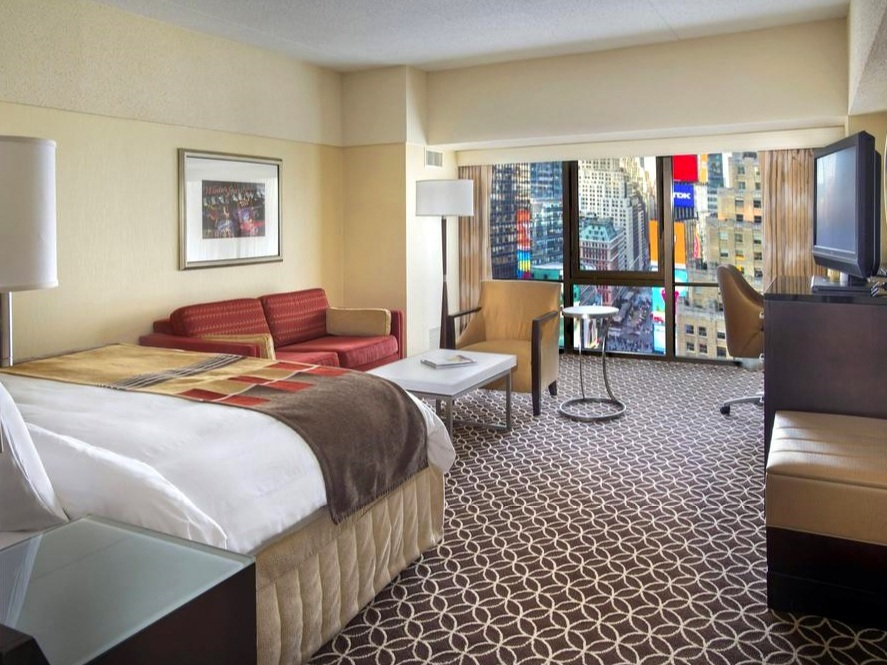 New York Marriott Marquis ✩✩✩✩ - Номера с видом: SuperiorОт $263 за ночь(В зависимости от сезона)Район: Таймс-сквер
