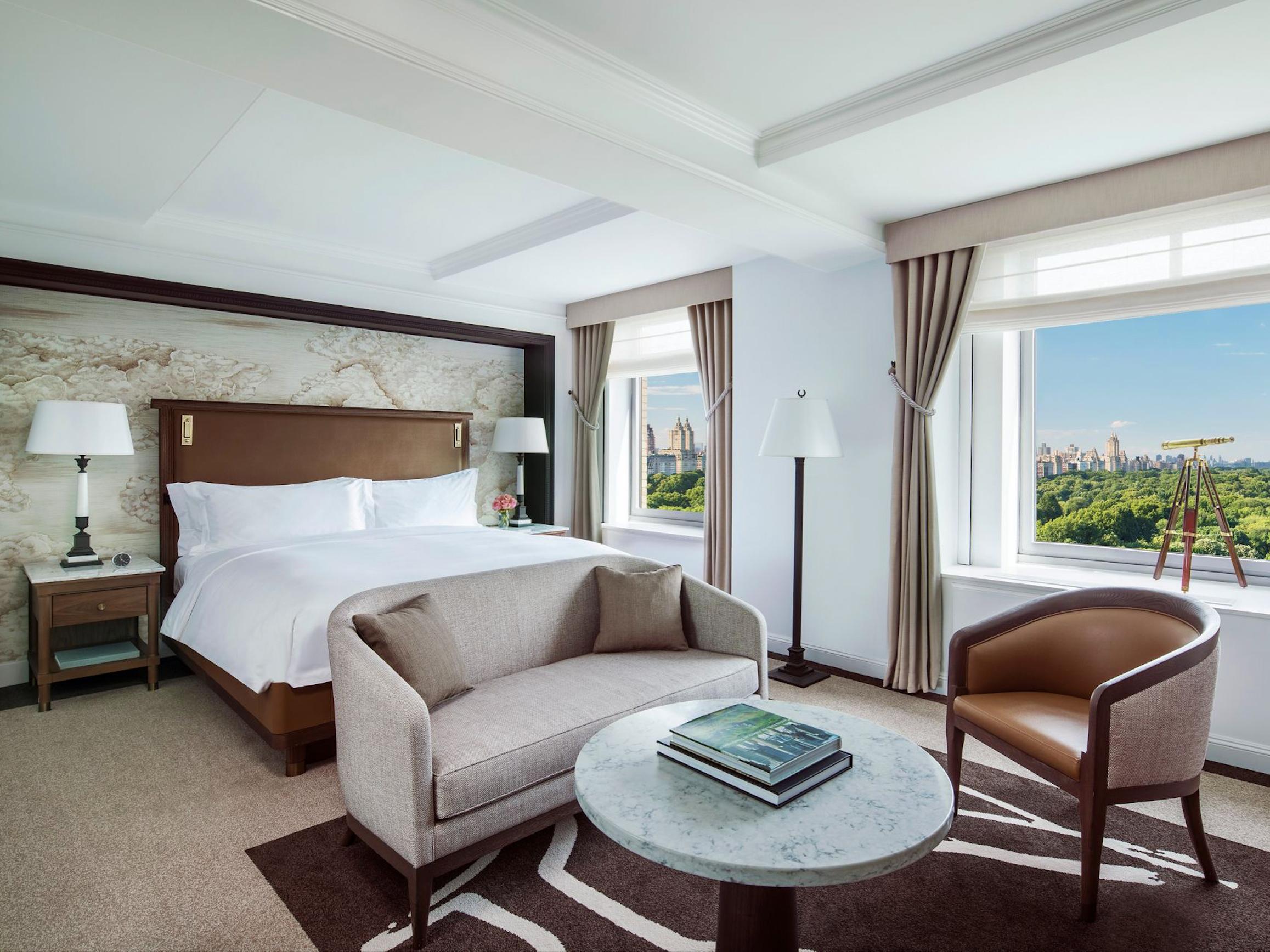 The Ritz-Carlton✩✩✩✩✩ - Стандартный номер:От $650 за ночь(В зависимости от сезона)Район: Центральный парк