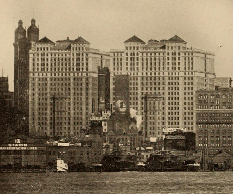 Станция Hudson Terminal (1909 год)