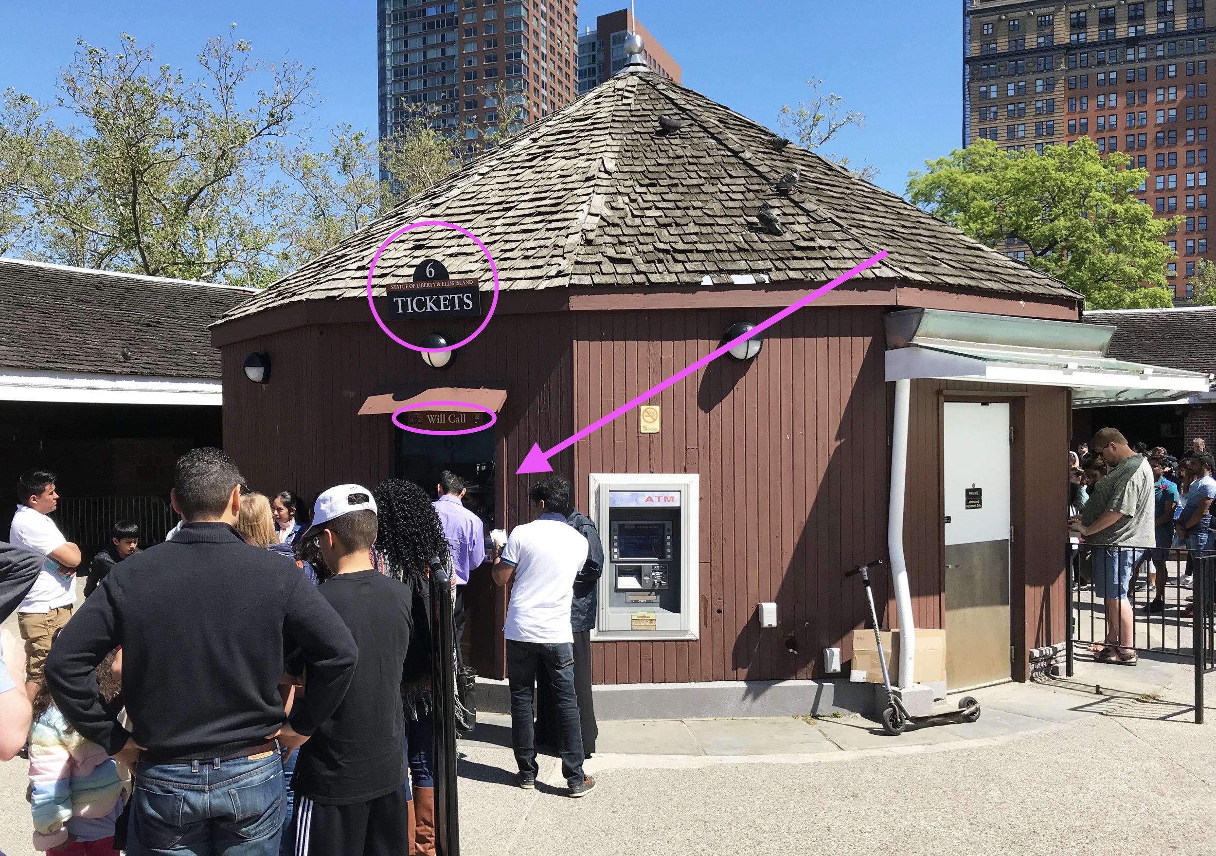 Не стойте в очереди в другие кассы, билеты в корону выдают только в окне номер 6