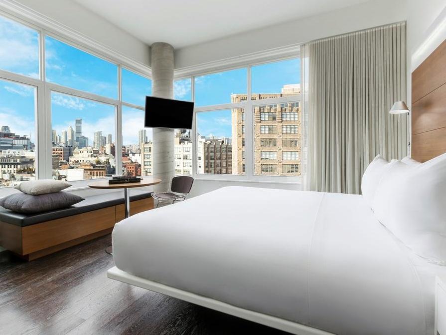 The James New York - SoHo✩✩✩✩✩ - Номера с видом: ВсеОт $445 за ночь(В зависимости от сезона)Район: Сохо