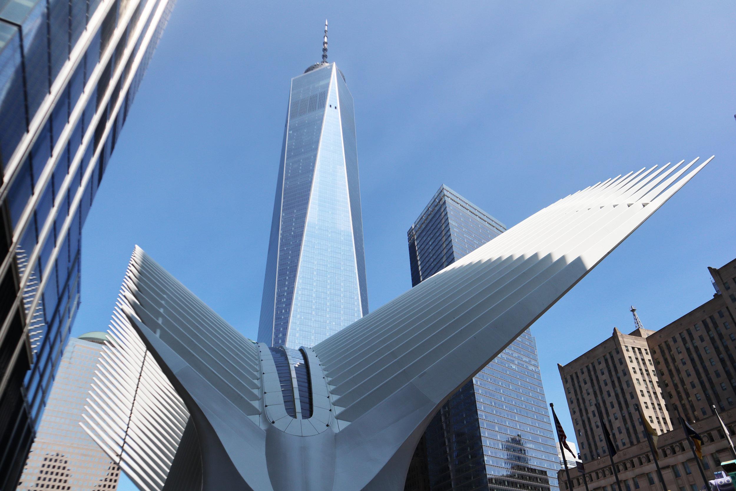 Самый высокий небоскреб в Нью-Йорке - Башня номер один ВТЦ