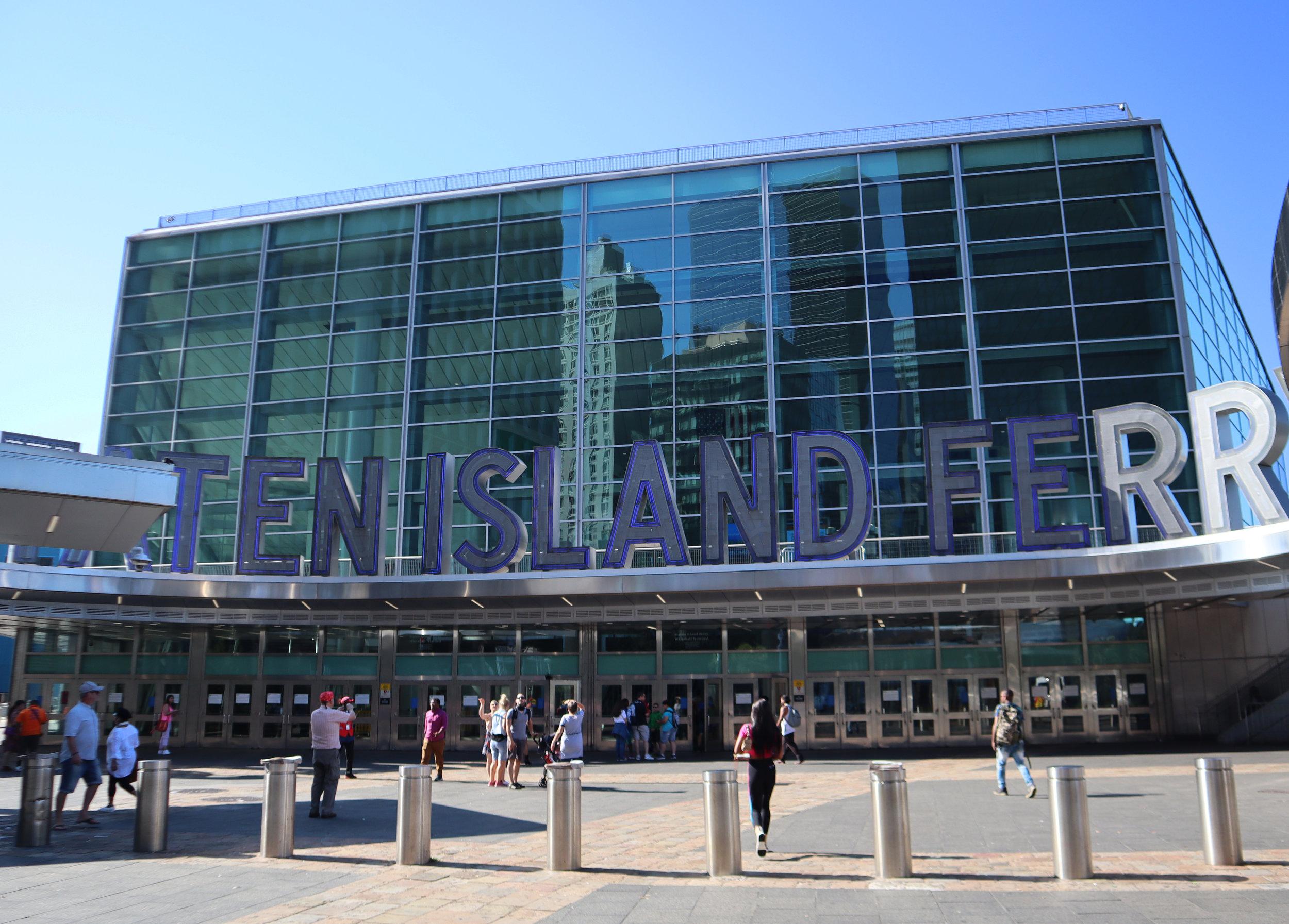 Терминал Уайтхолл (Whitehall Terminal), Манхэттен Нью-Йорк