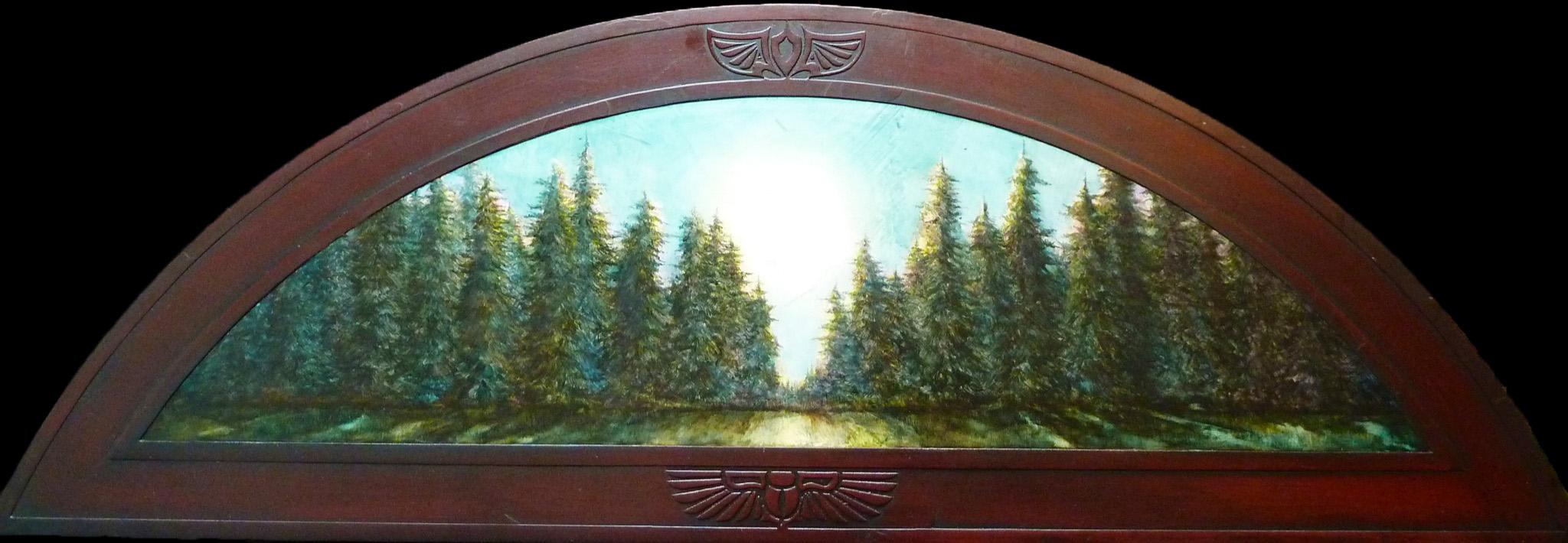 Pine Trees in Moonlight - $1,200