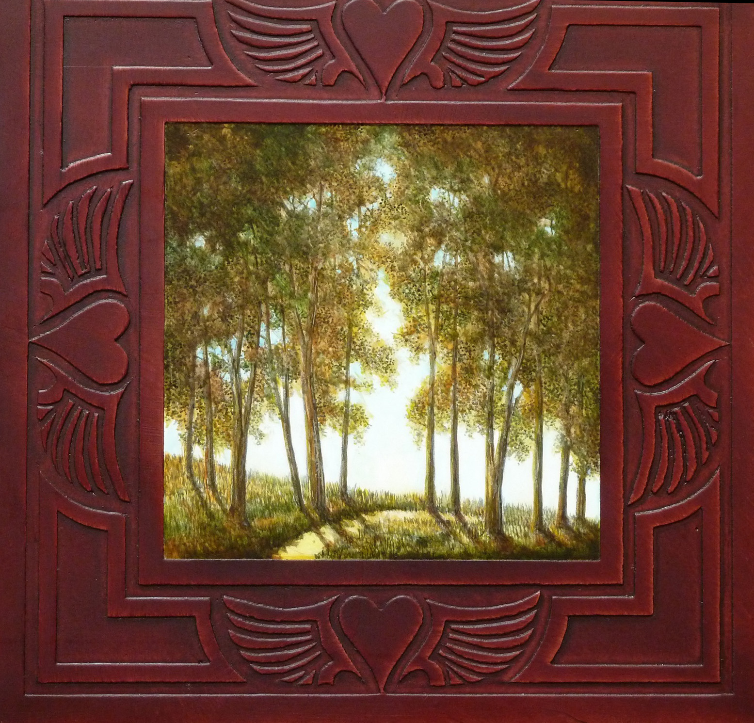 Cottonwoods (Framed) - SOLD