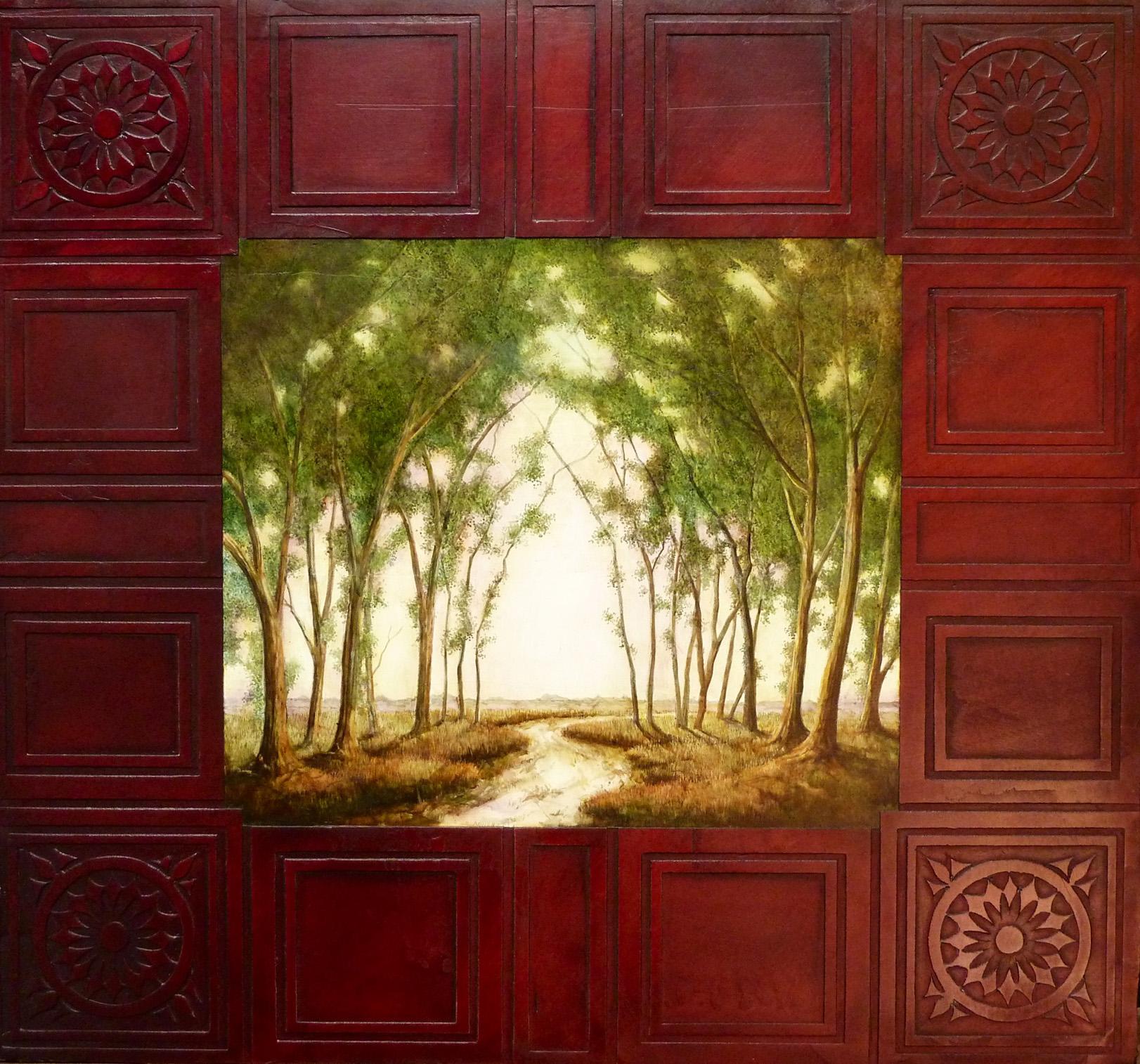 Path Through The Cottonwoods - $800