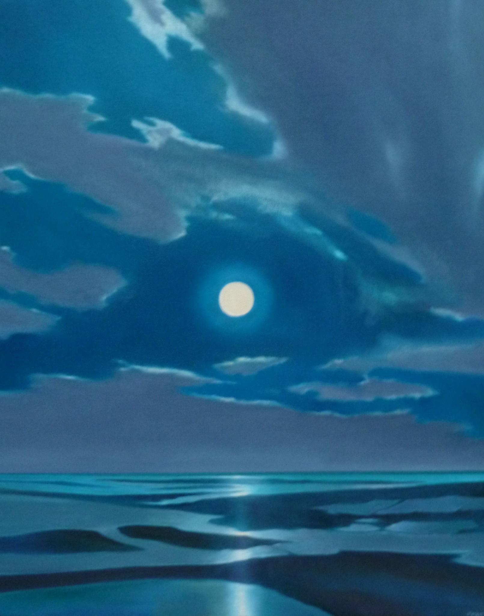 Full Moon, All Blue - $600